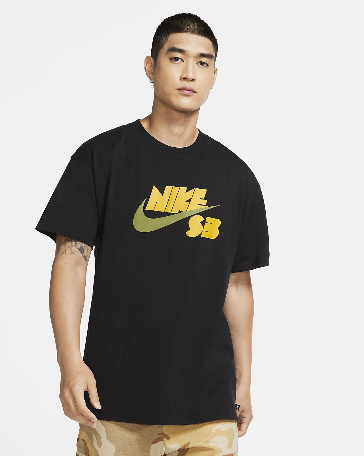 Playera de skateboarding de temporada con logotipo para hombre Nike SB