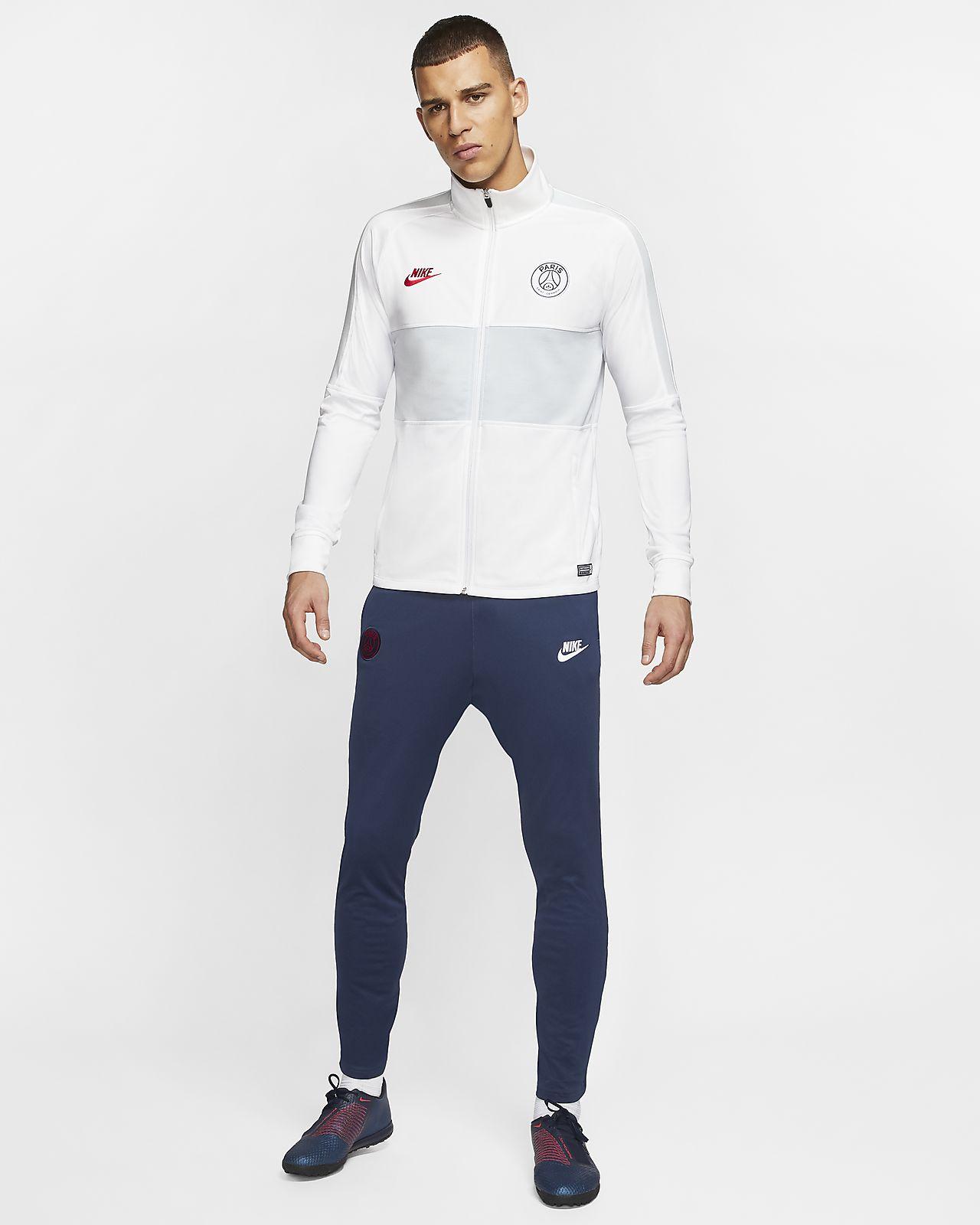 Fotbollstracksuit Nike Dri-FIT Paris Saint-Germain Strike för män