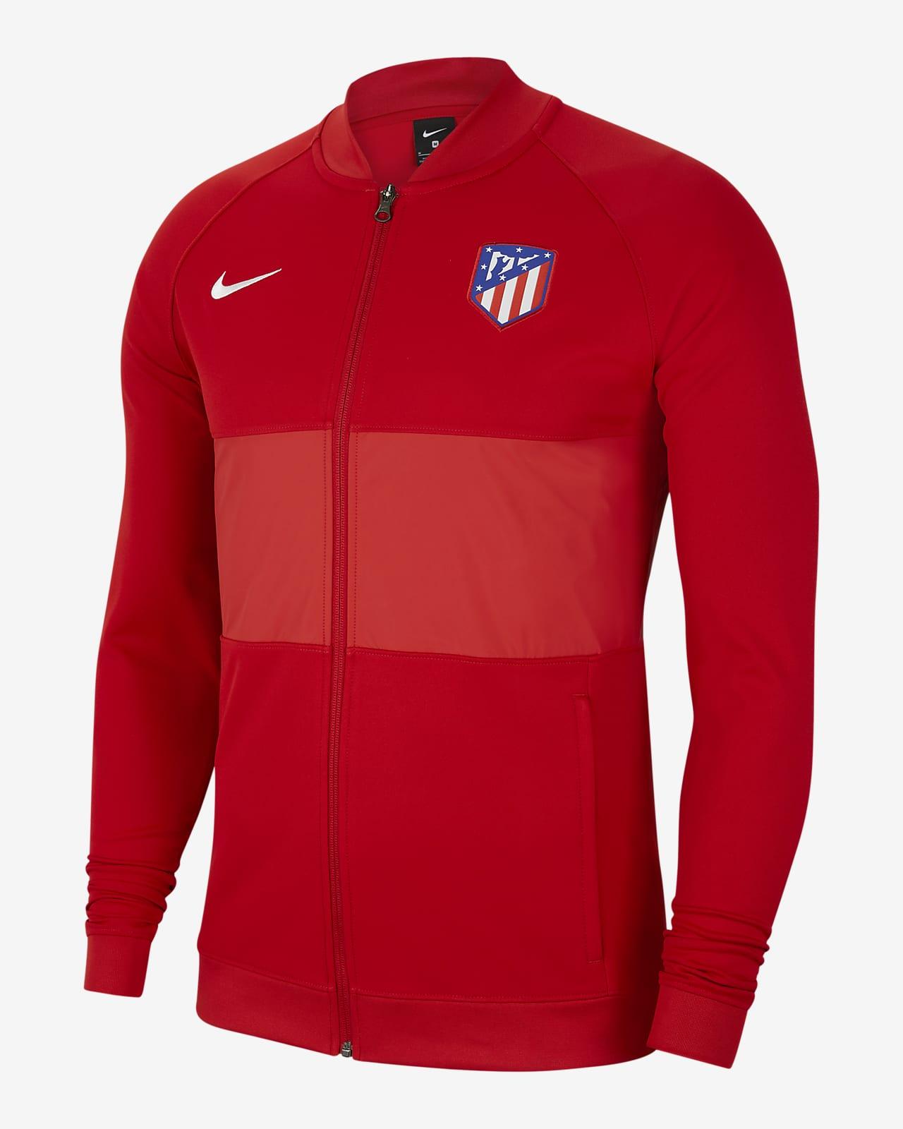 Atlético Madrid Fußball-Track-Jacket mit durchgehendem Reißverschluss für Herren