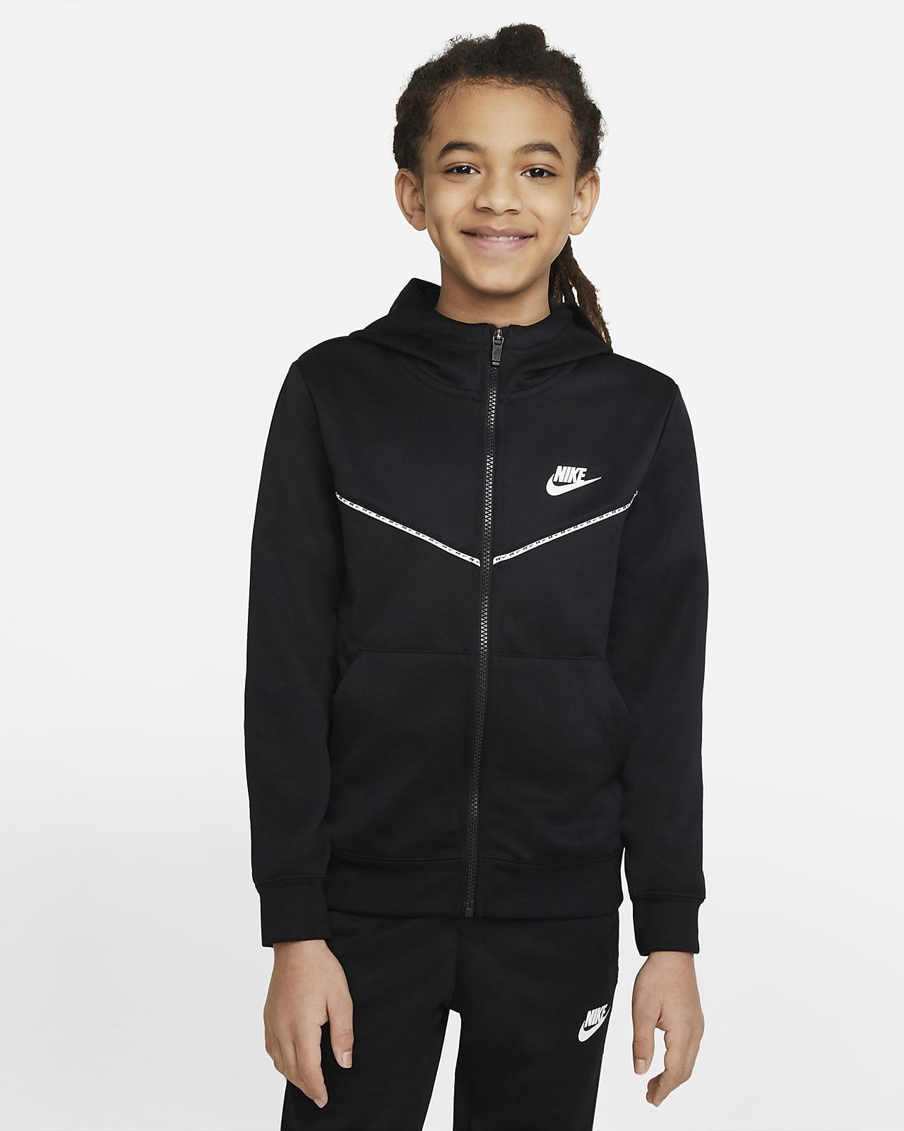 Hoodie com fecho completo Nike Sportswear Júnior (Rapaz)