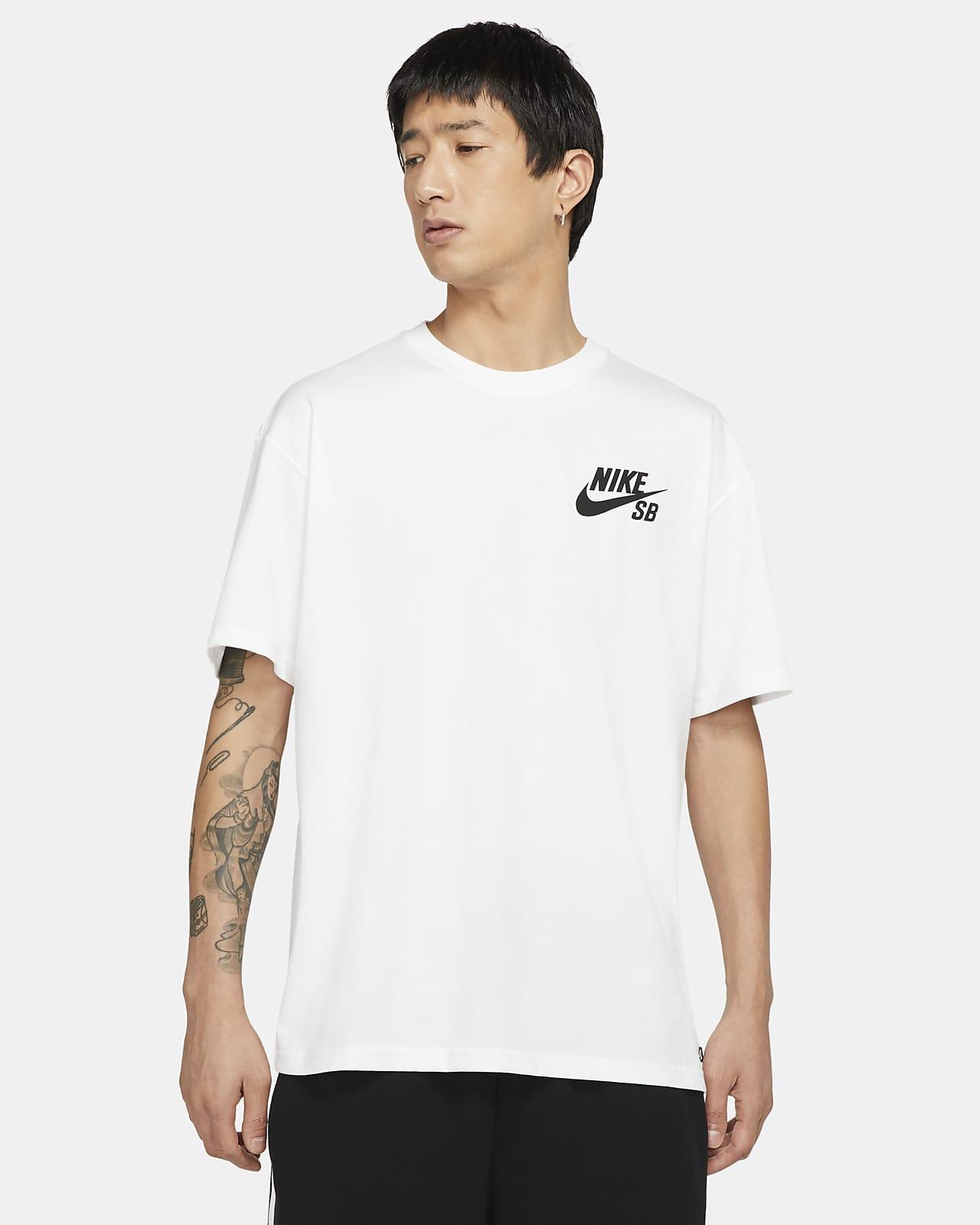 Playera de skateboarding con logotipo Nike SB