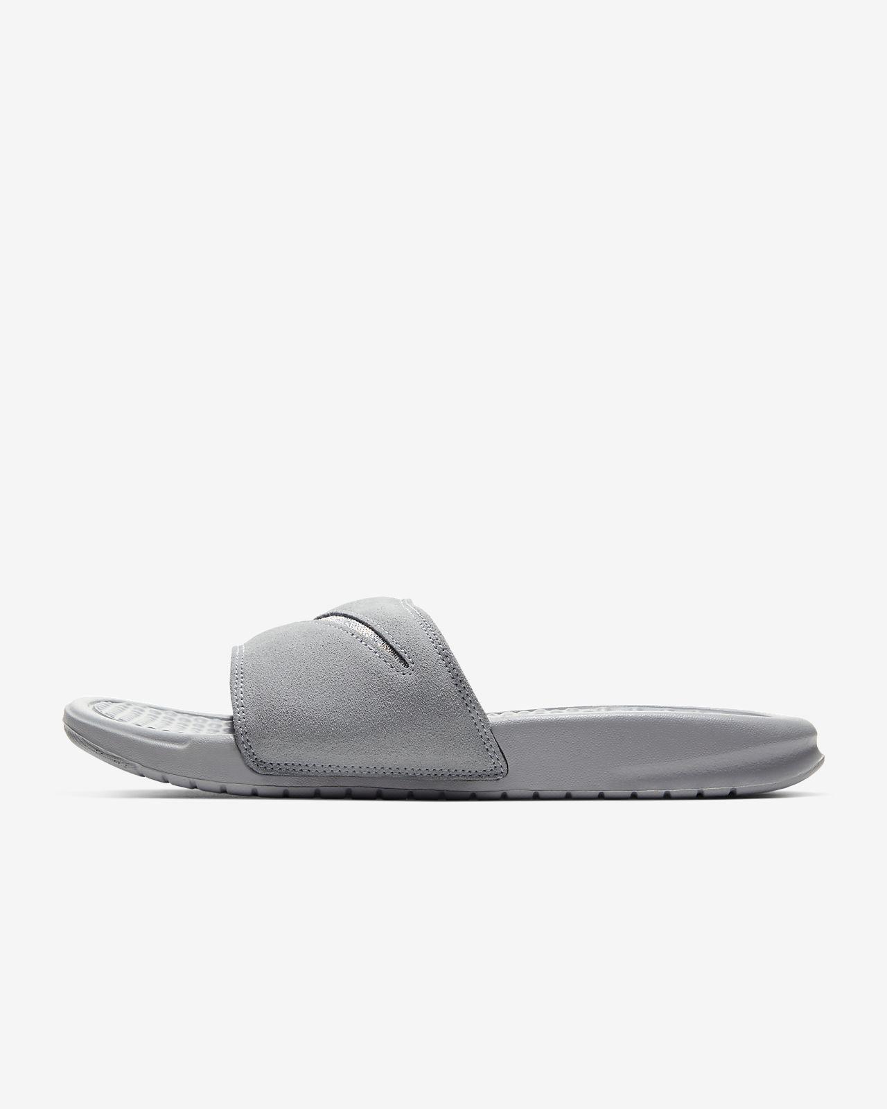 Sandalias para mujer Nike Benassi JDI Leather SE