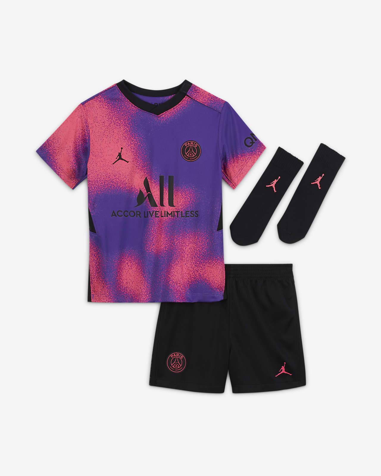 Paris Saint-Germain 2021/22 Fourth Baby & Toddler Football Kit
