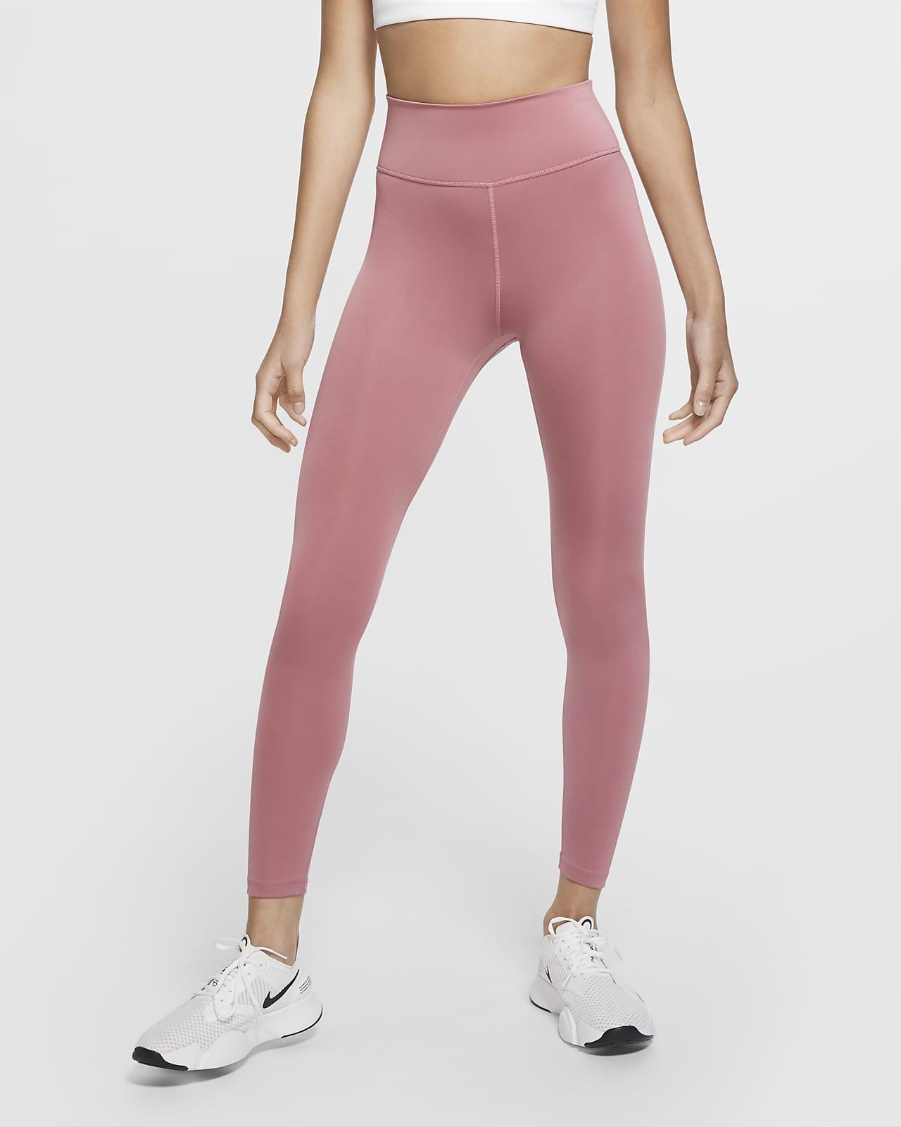 Nike One 7/8-tights met graphic voor dames