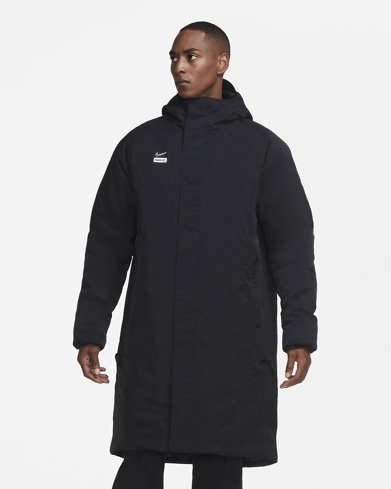 Мужская футбольная куртка с синтетическим наполнителем Nike F.C.