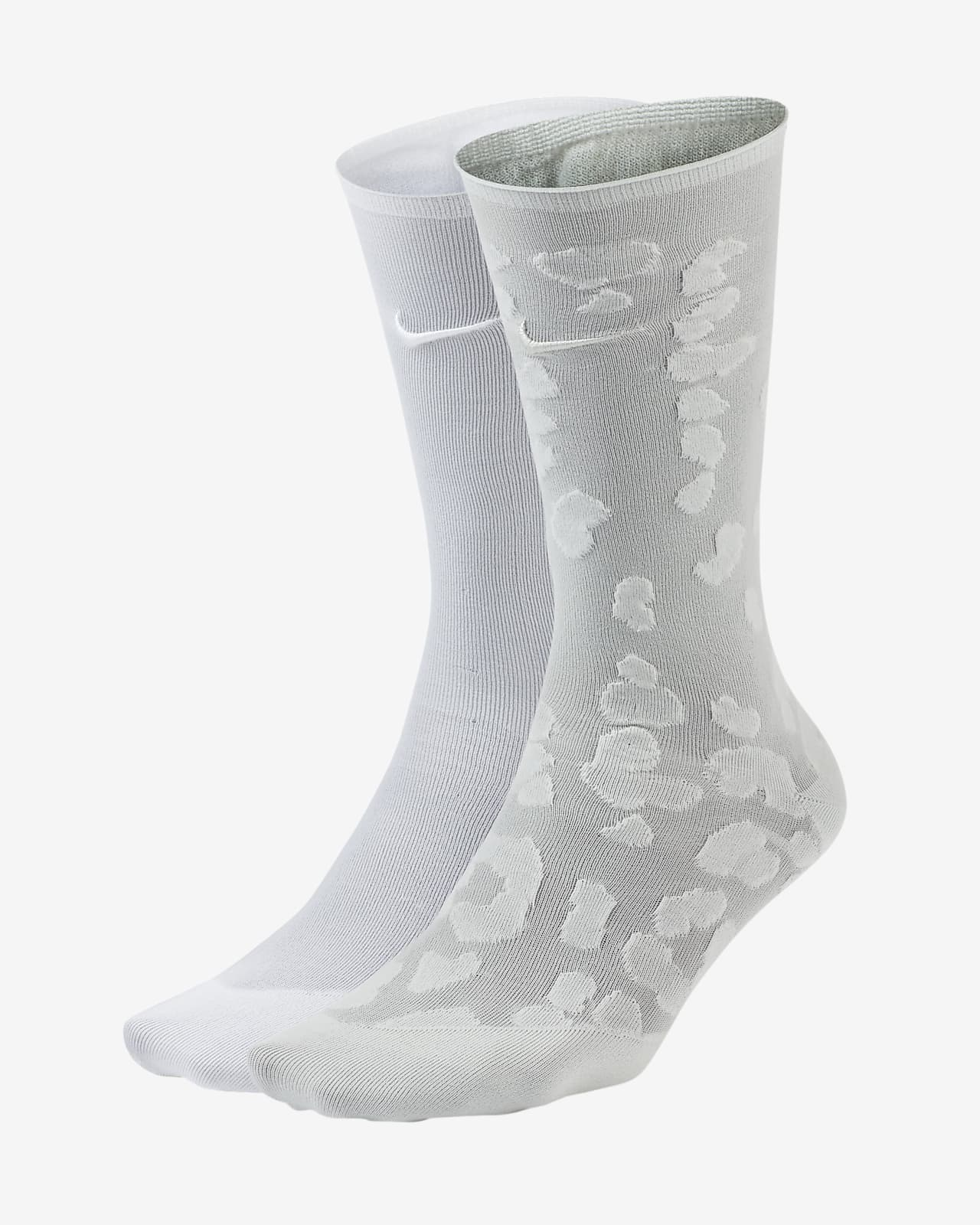 Calcetines hasta el tobillo de entrenamiento para mujer Nike (2 pares)