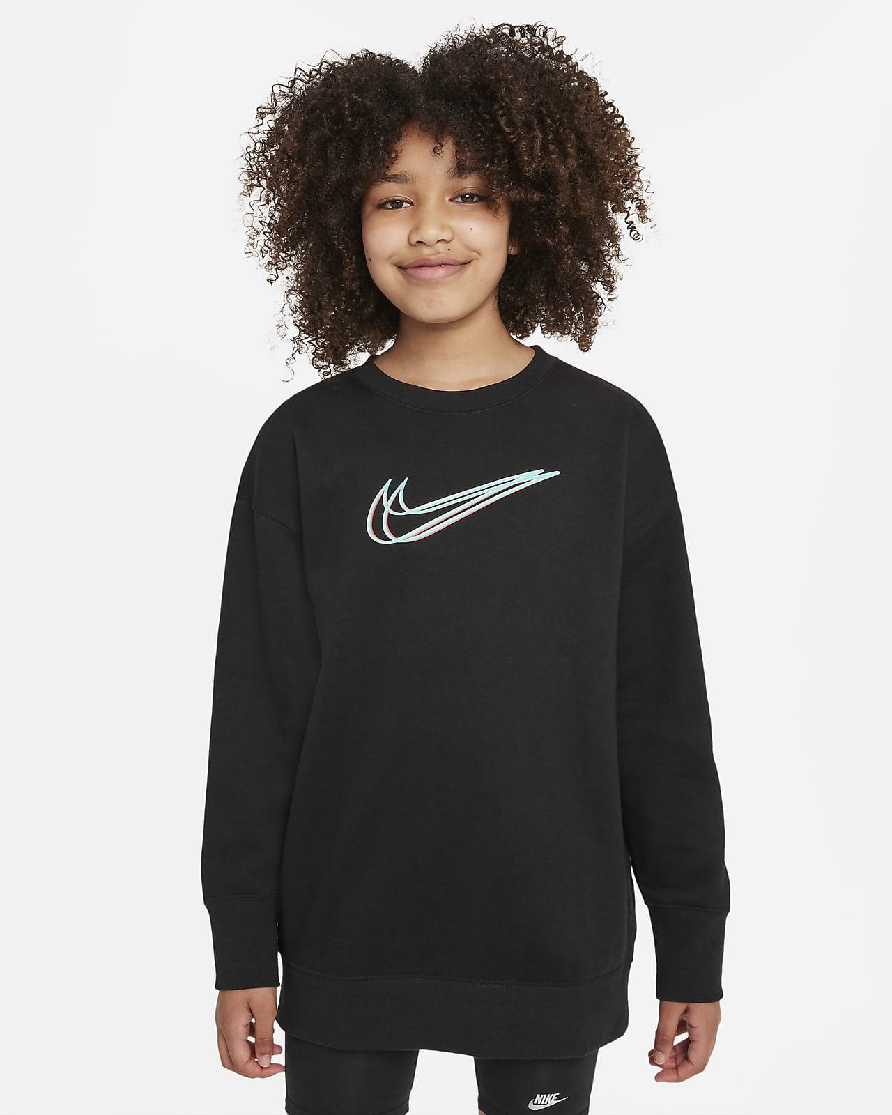 Nike Sportswear Older Kids' (Girls') Dance Sweatshirt