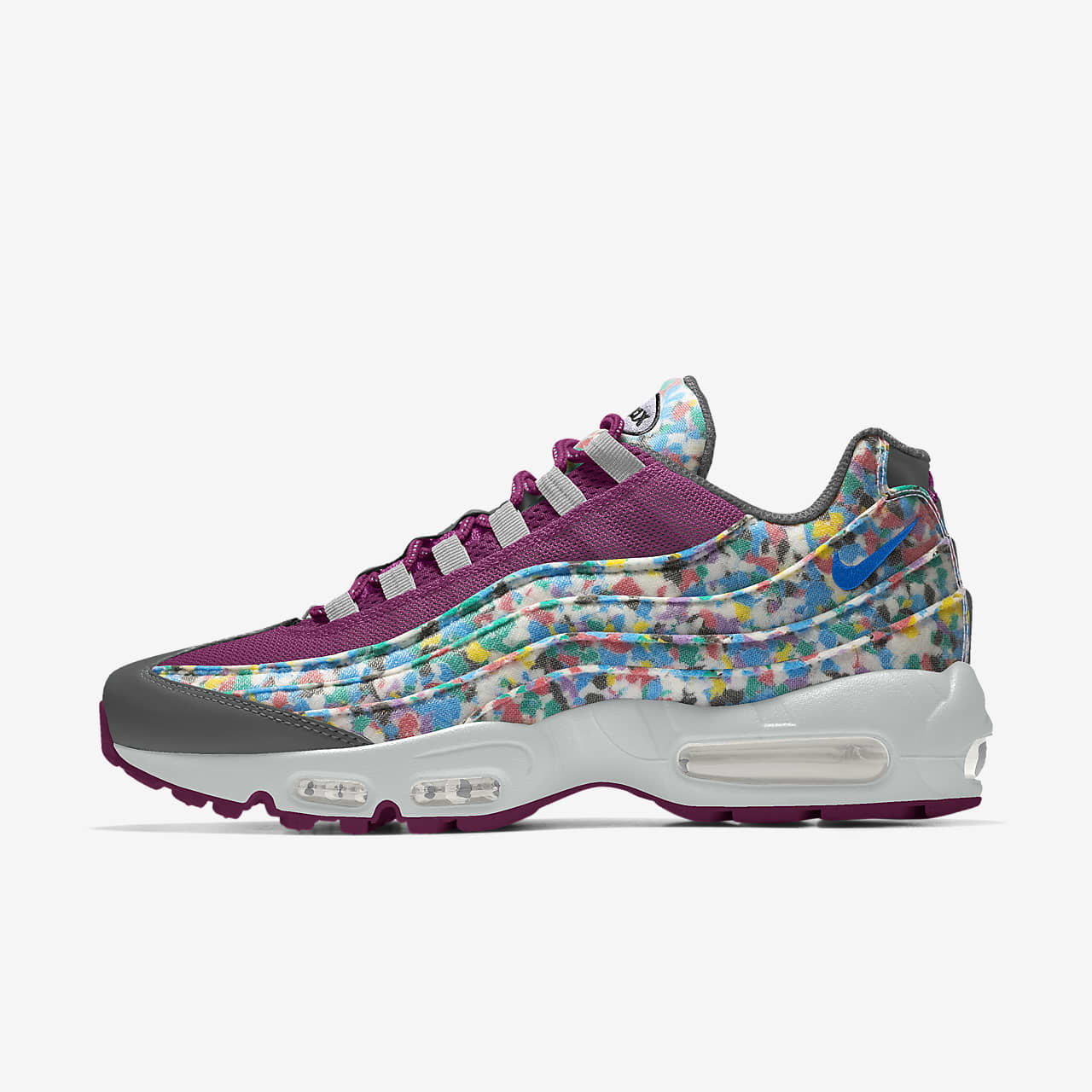 Nike Air Max 95 Unlocked By You personalisierbarer Damen Freizeitschuh