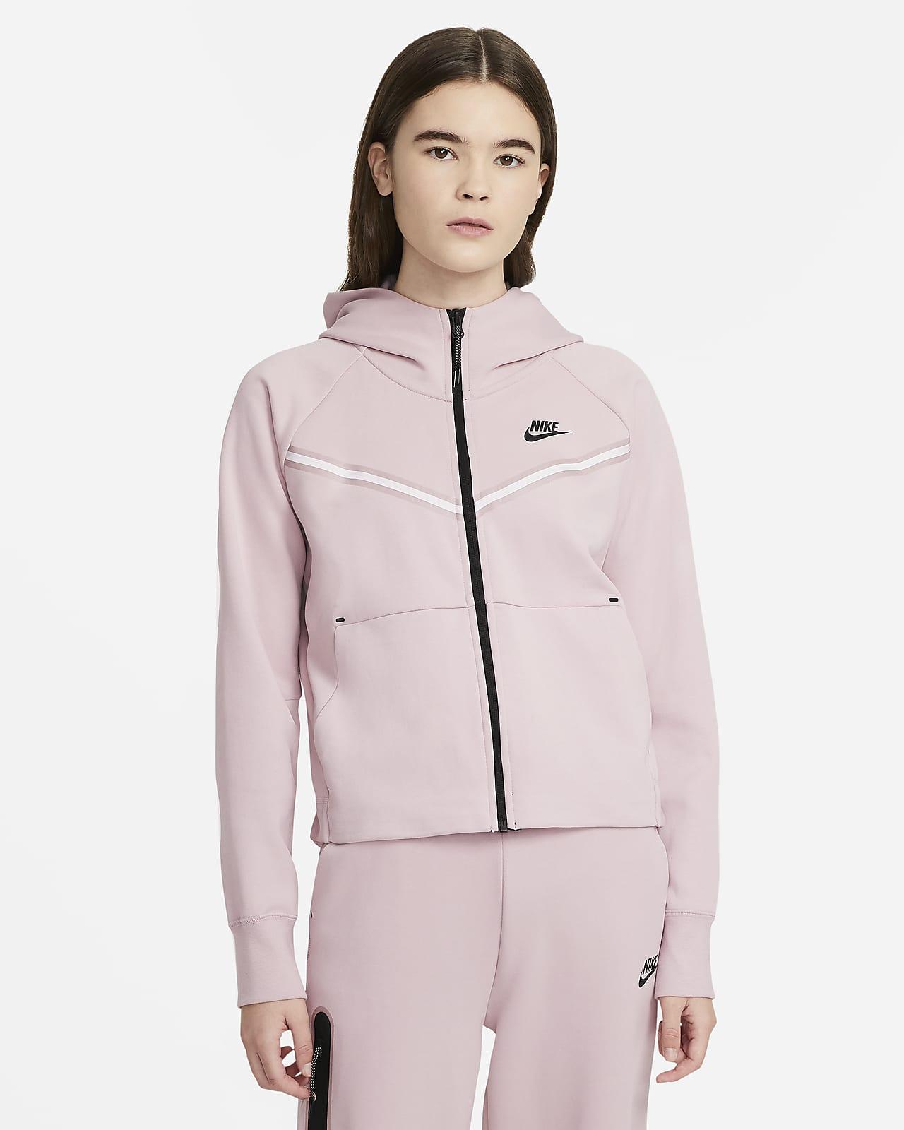 Nike Sportswear Tech Fleece Windrunner Sudadera con capucha con cremallera completa - Mujer