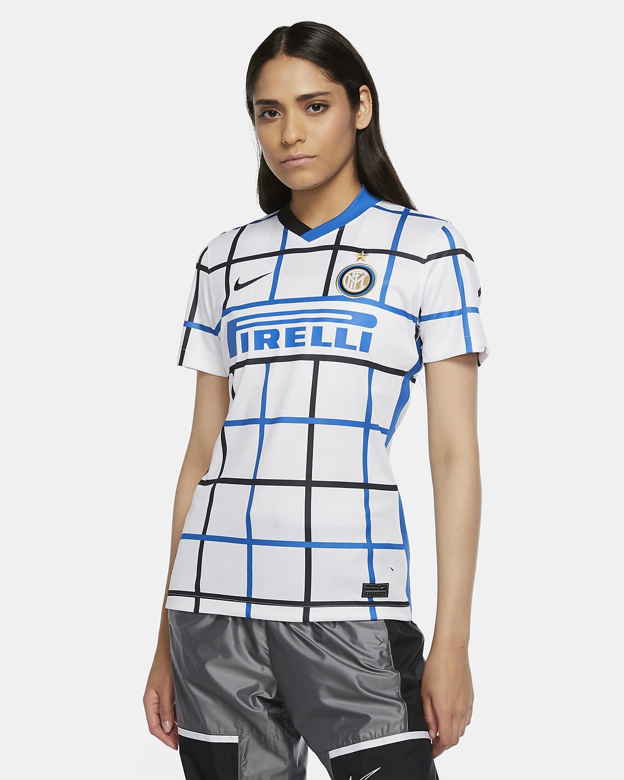 Camiseta de fútbol de visitante para mujer Stadium del Inter de Milán 2020/21