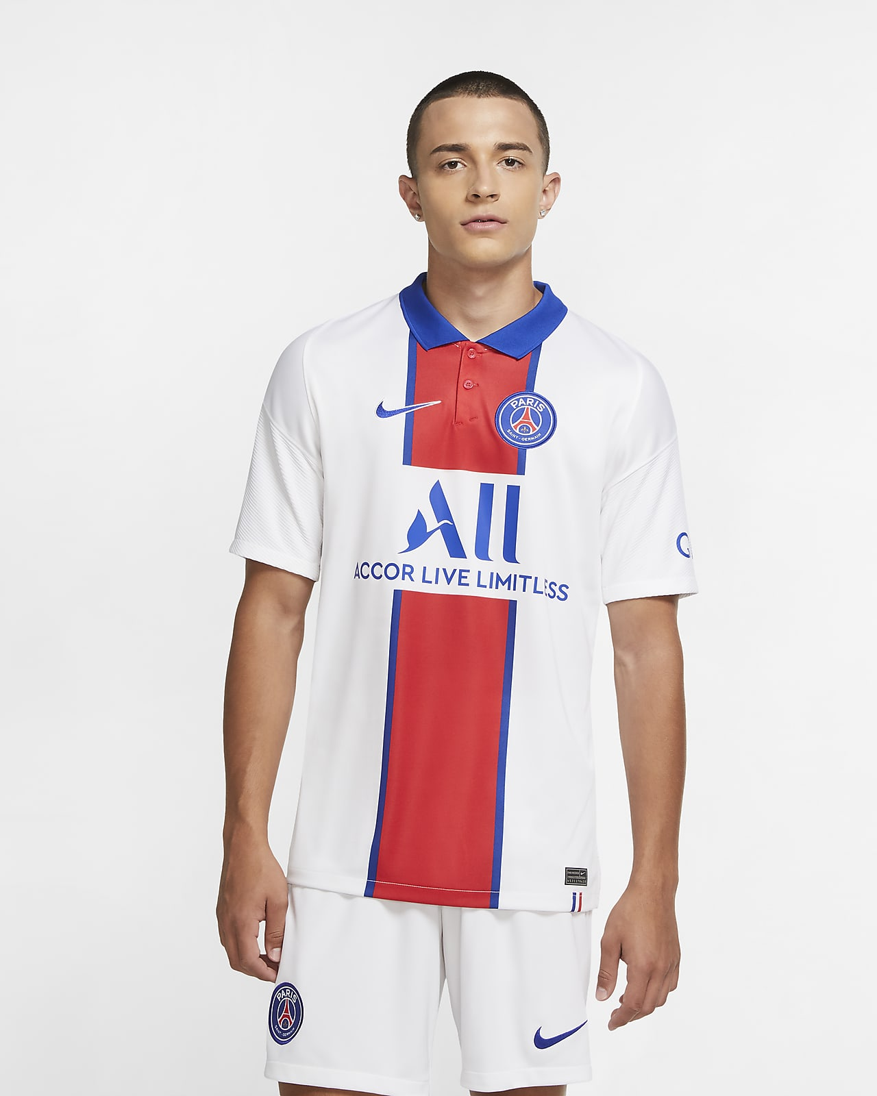 Maillot de football Paris Saint Germain 202021 Stadium Extérieur pour Homme