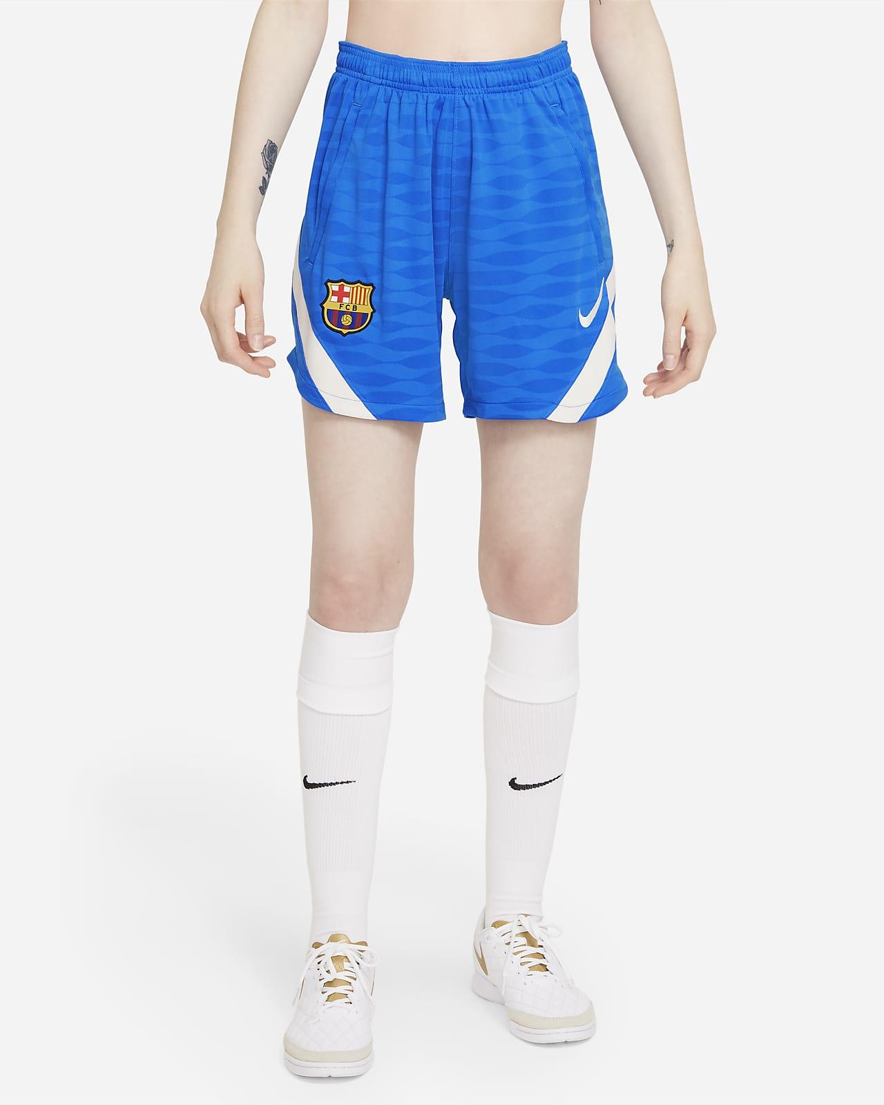 FC Barcelona Strike Nike Dri-FIT Kadın Futbol Şortu