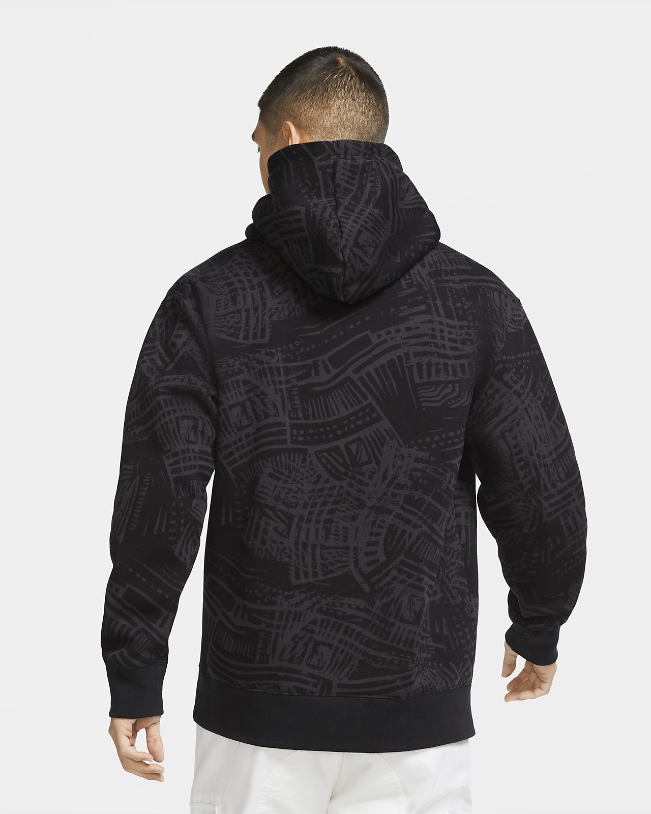 nike japanese logo hoodie