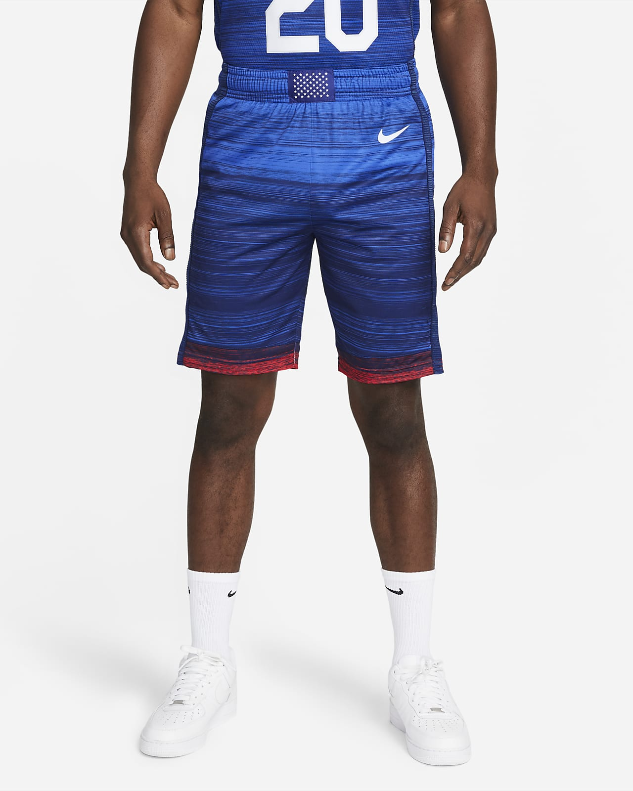 Nike Team USA Authentic (Road) Men's Basketball Shorts