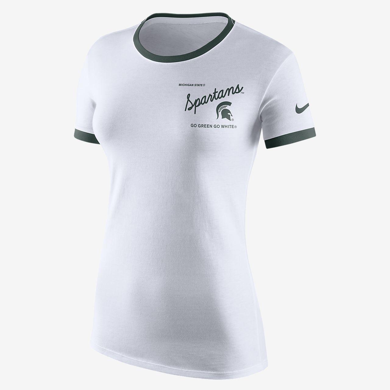 Nike College (Michigan State) Women's Tri-Blend T-Shirt