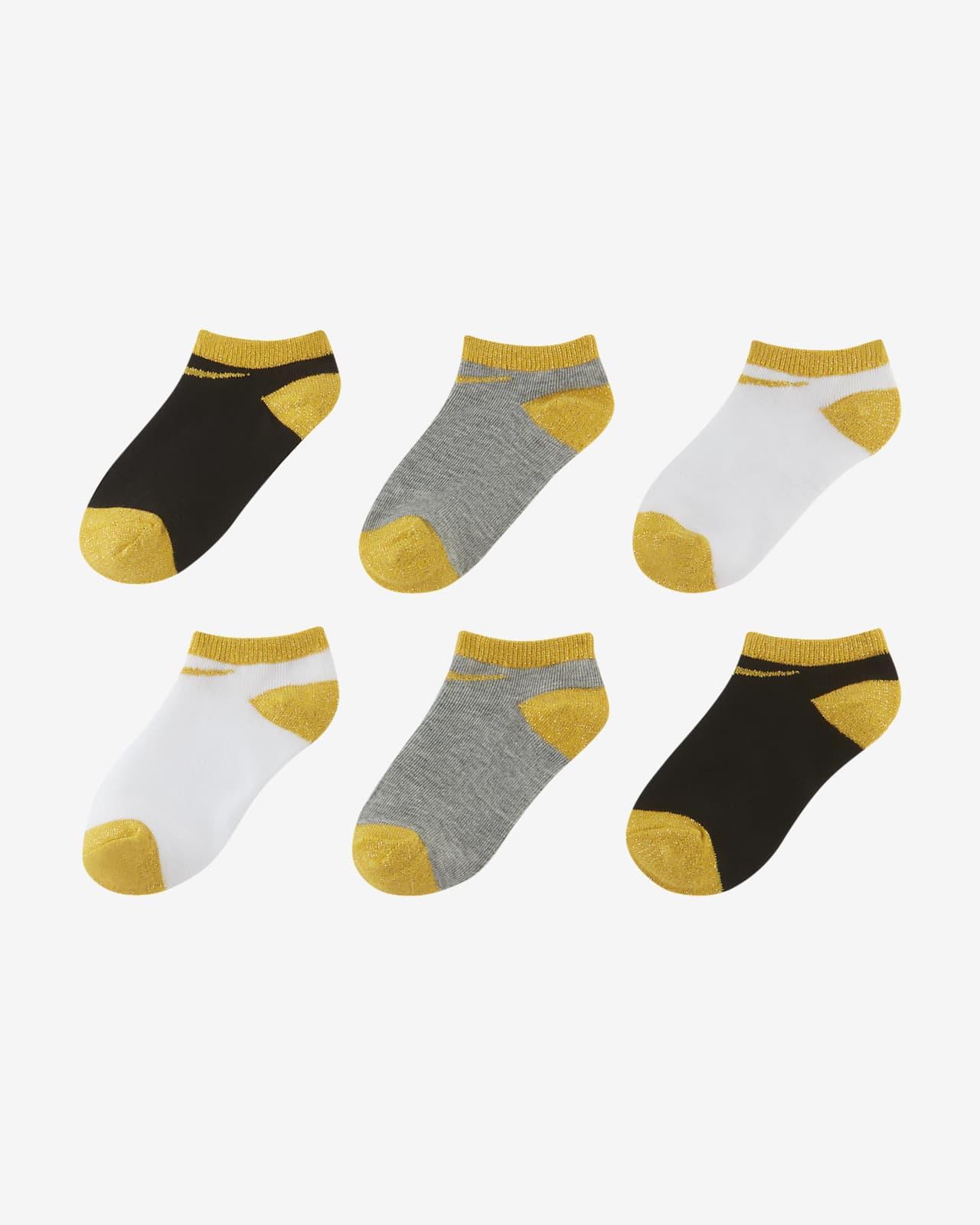 Nike Little Kids No-Show Socks (6 Pairs)