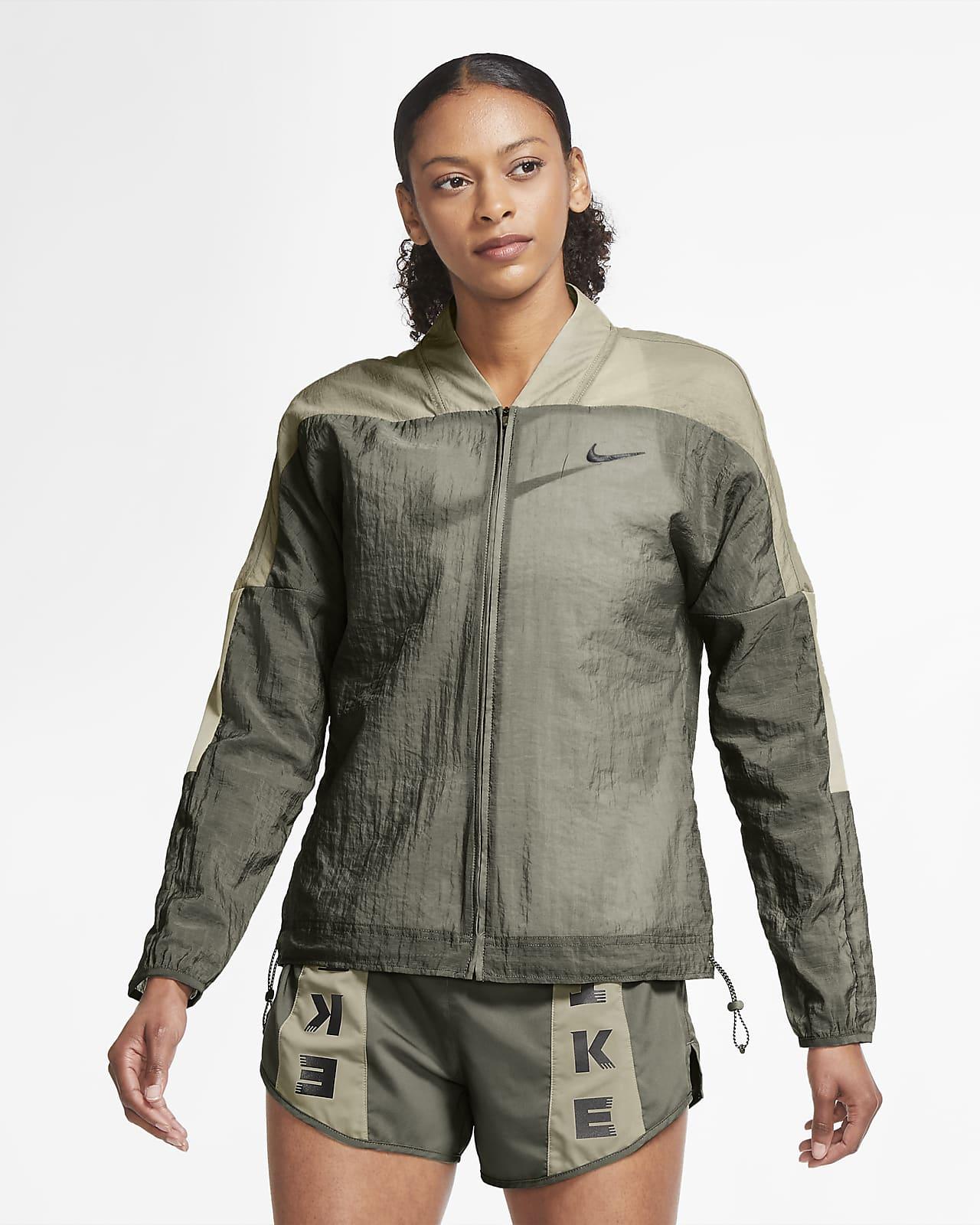 Chamarra de running para mujer Nike Icon Clash