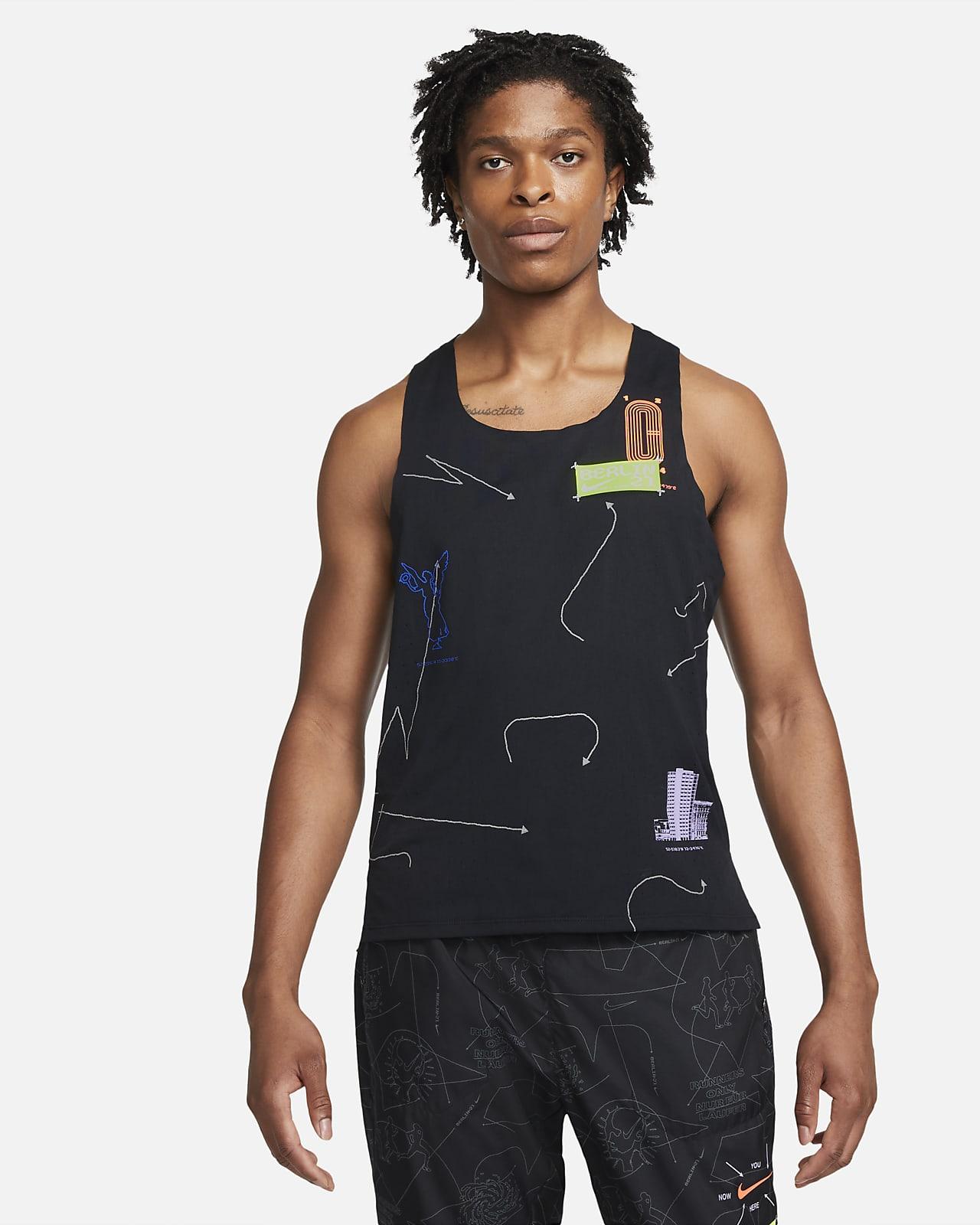 Ανδρική φανέλα για τρέξιμο Nike Dri-FIT ADV Berlin