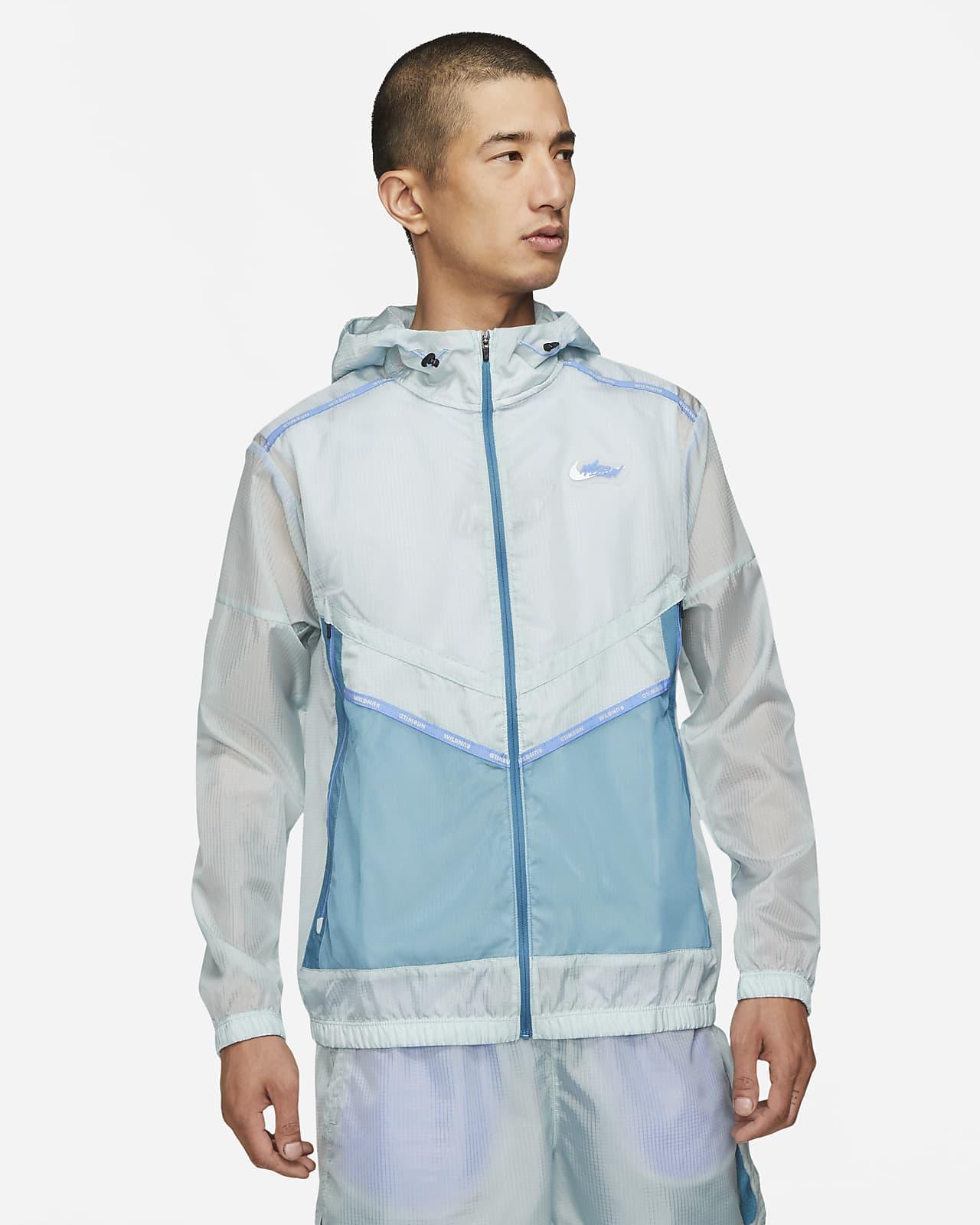 Nike Repel Wild Run Windrunner Men's Graphic Running Jacket
