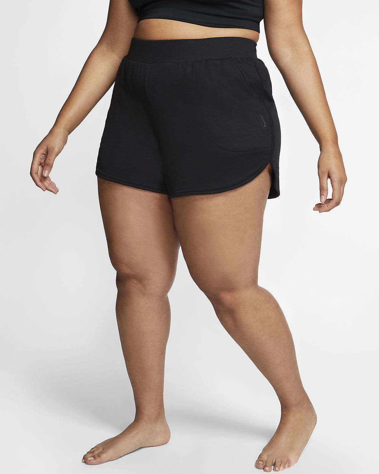 plus size nike shorts