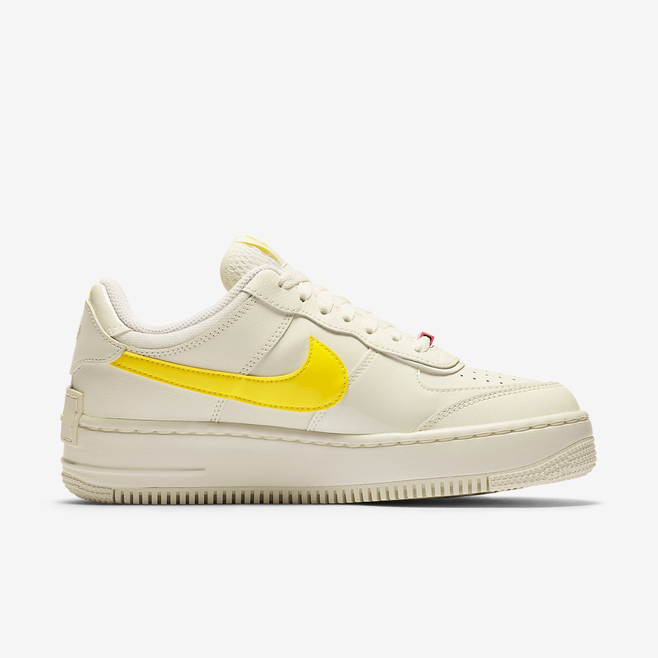 air force 1 shadow femme jaune