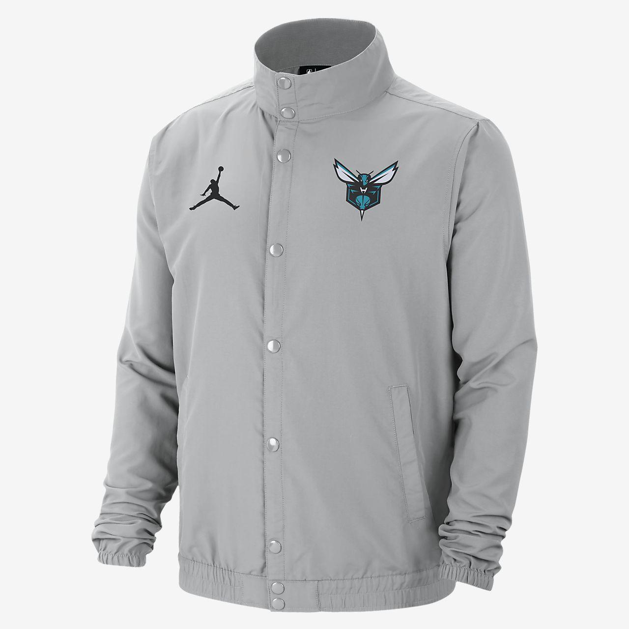Charlotte Hornets City Edition Men's Jordan NBA Jacket