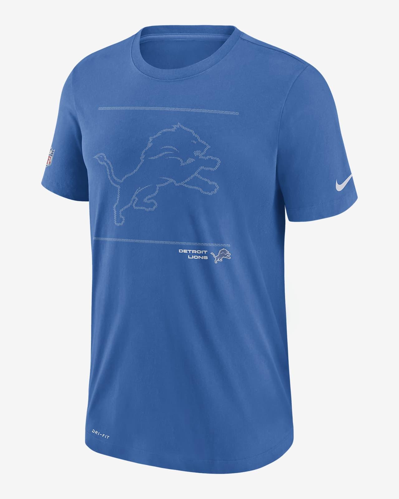 Nike Dri-FIT Sideline Team Issue (NFL Detroit Lions) Men's T-Shirt