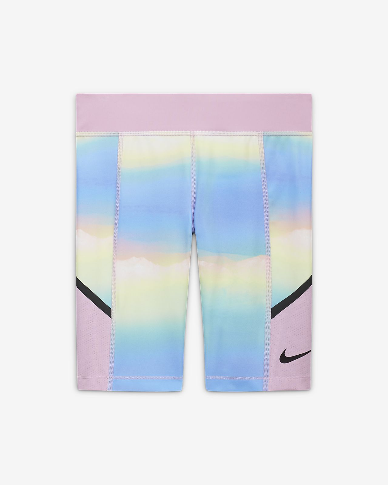 Шорты для тренинга с принтом для девочек школьного возраста Nike Tech Pack