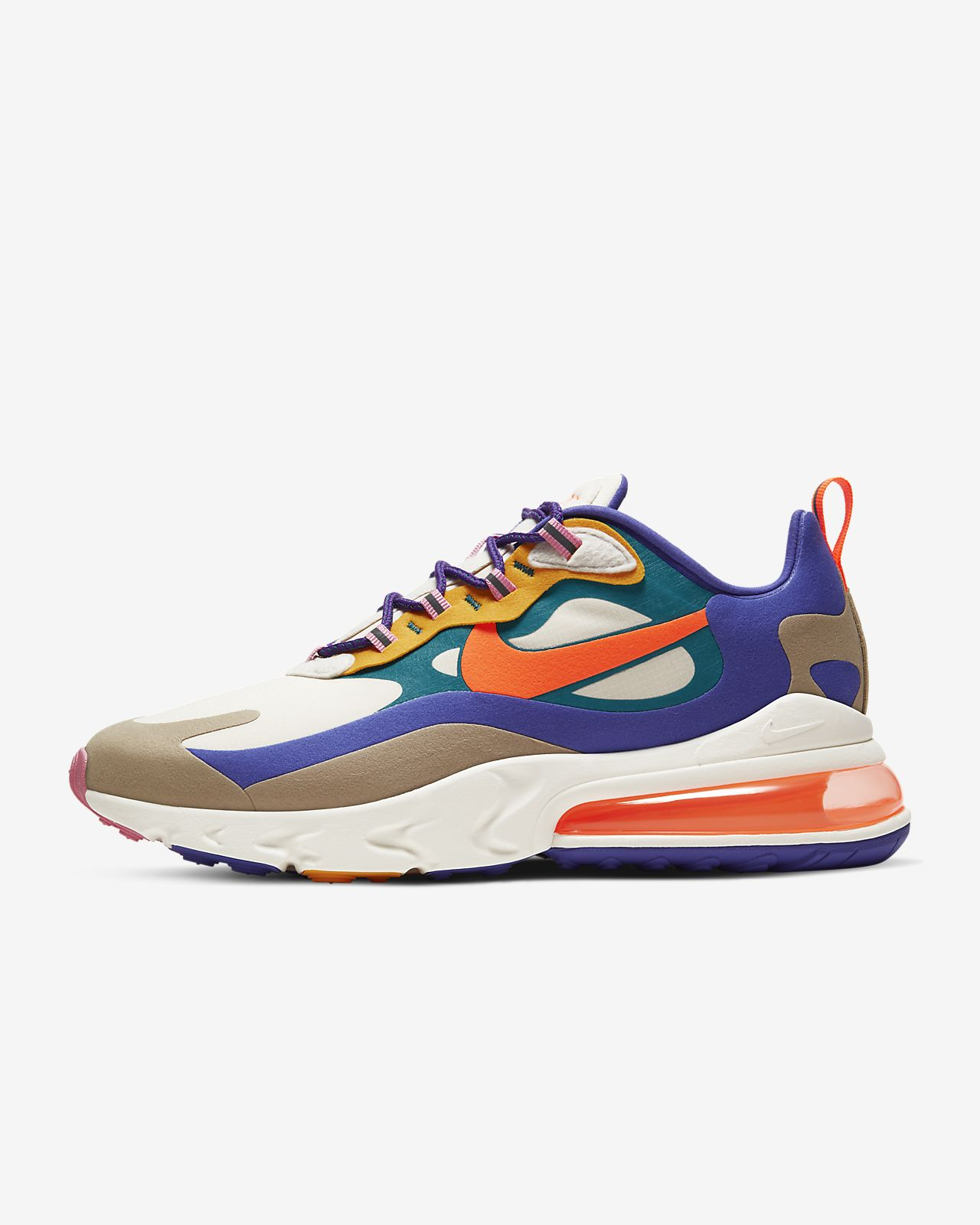 nike air max 270 react homme blanche