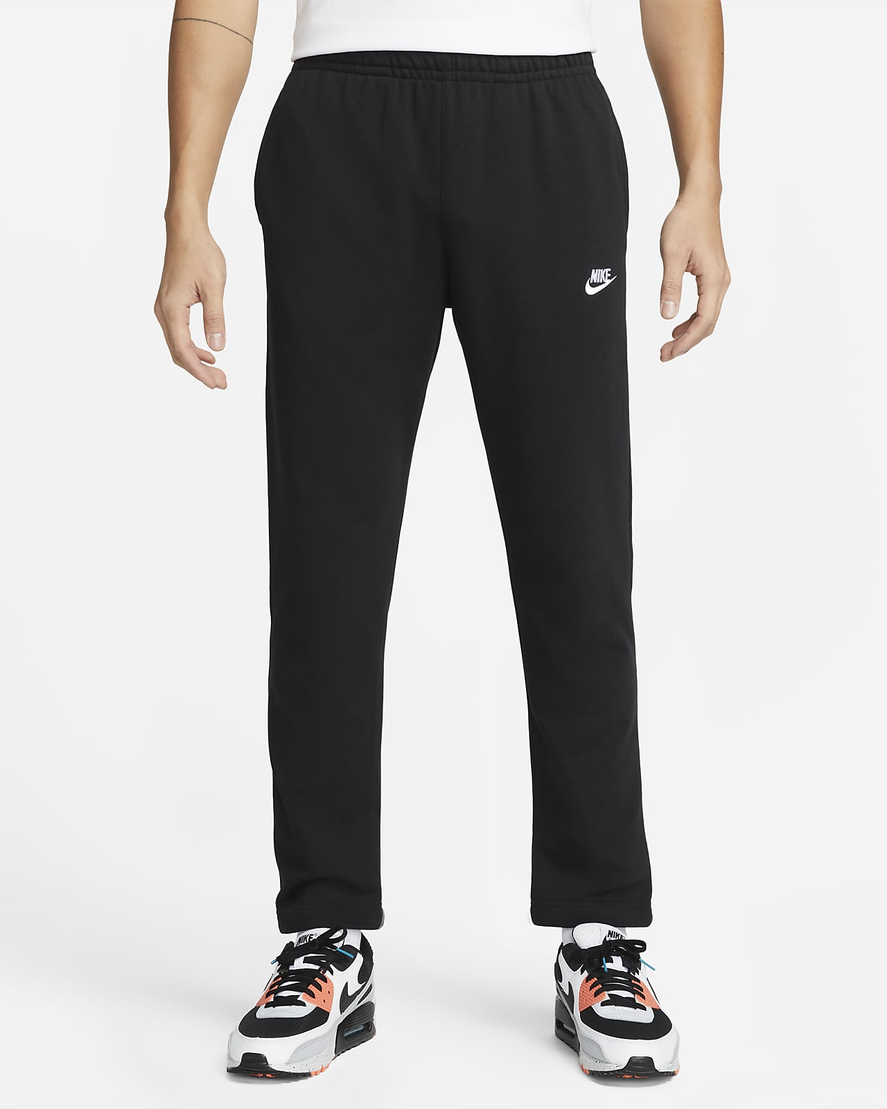 กางเกงเฟรนช์เทรีผู้ชาย Nike Sportswear Club