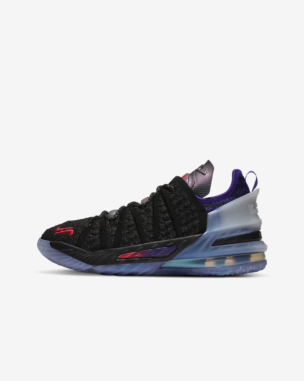 """Basketbalová bota LeBron18 """"The Chosen2"""" pro větší děti"""