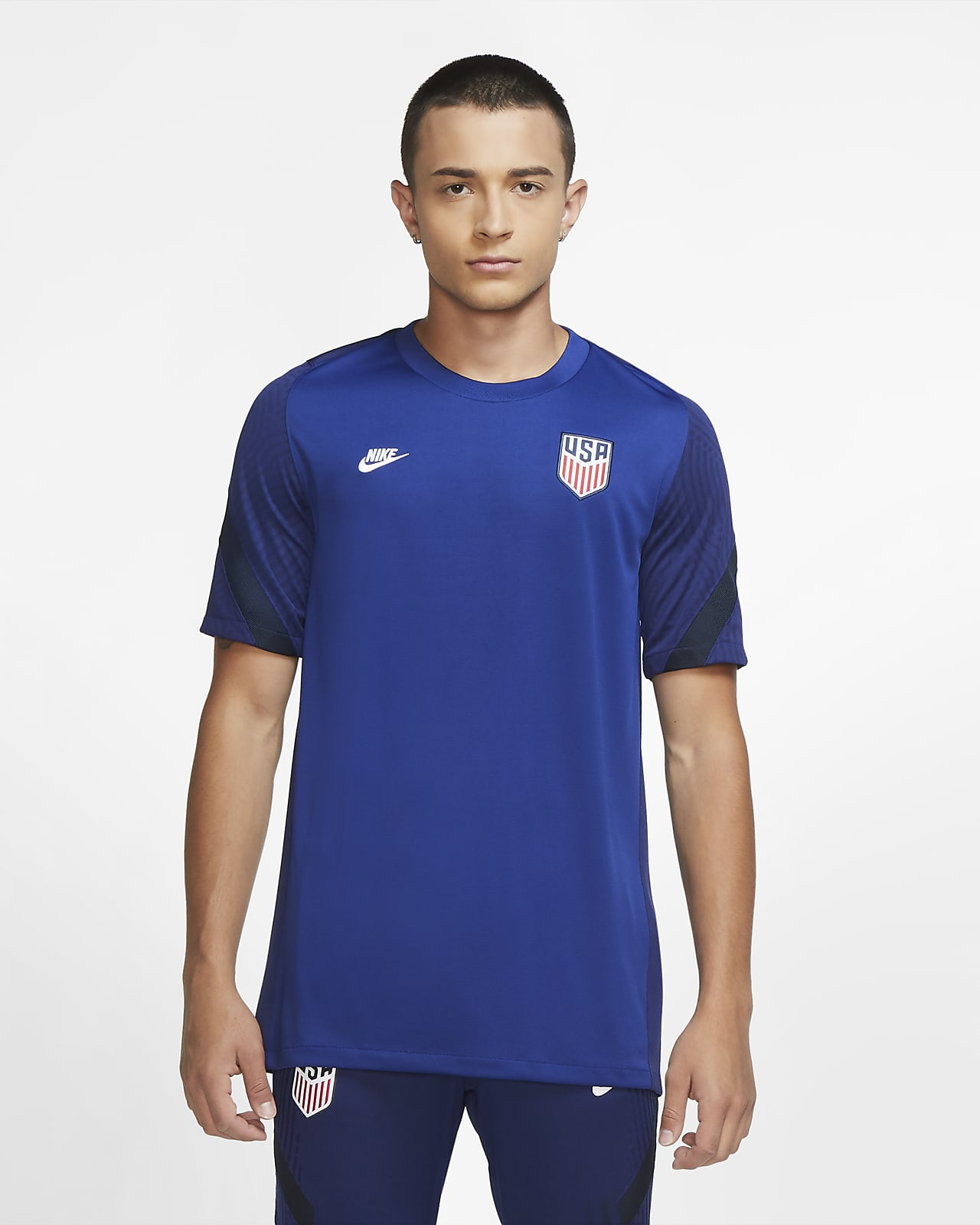 U.S. Strike Men's Short-Sleeve Soccer Top