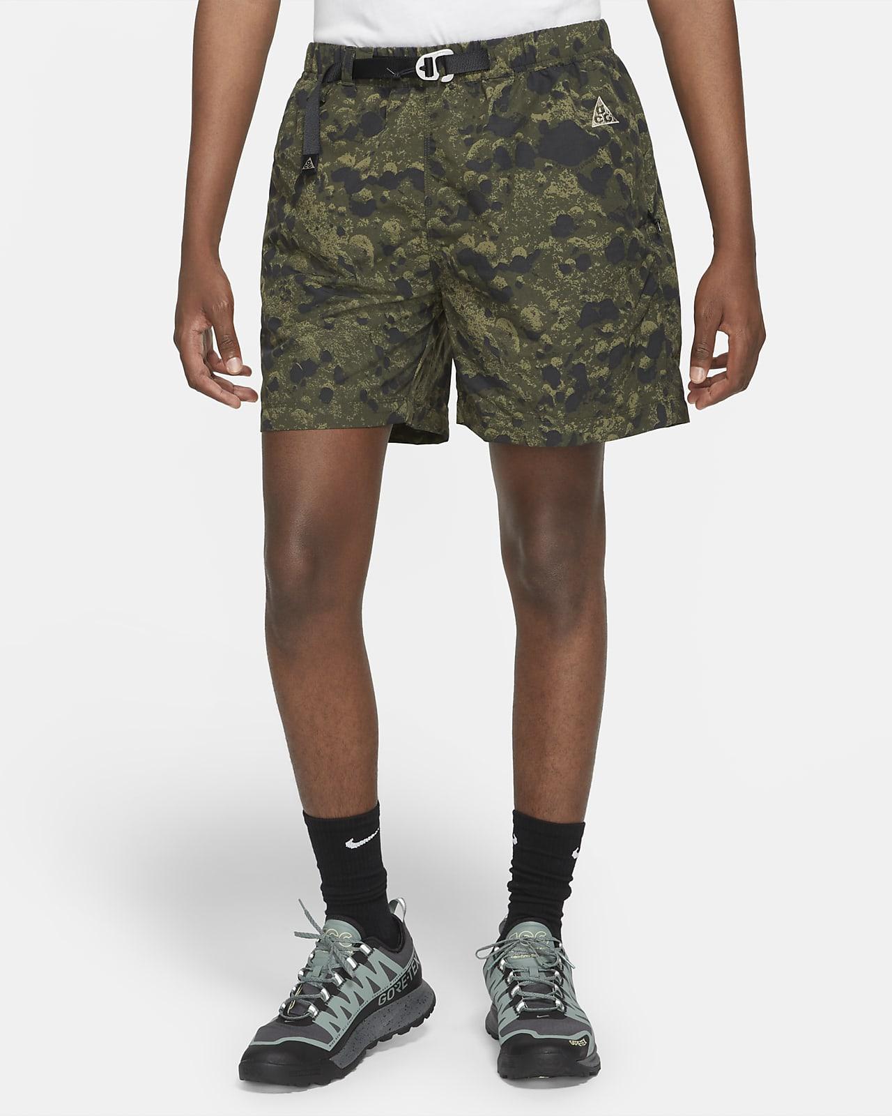 Short de trail à imprimé intégral Nike ACG pour Homme