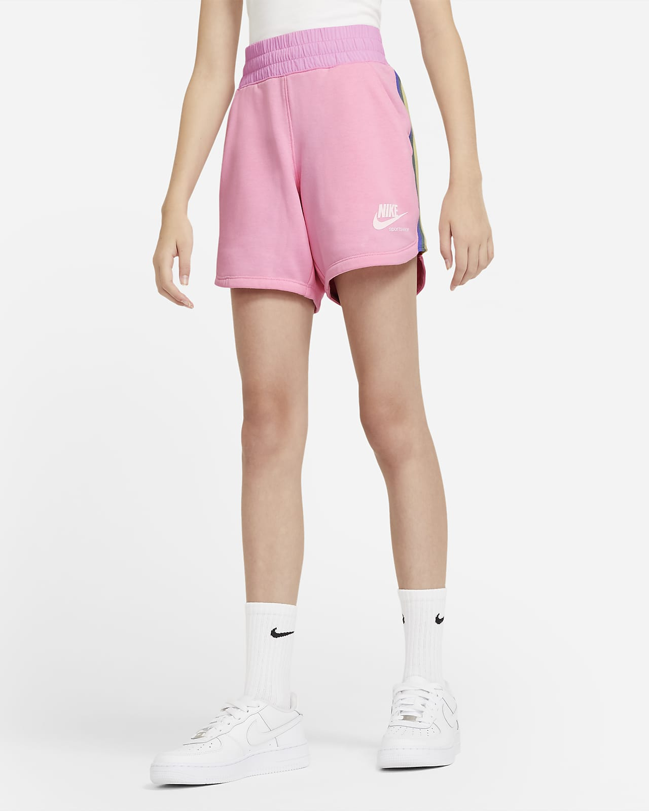 Nike Sportswear Heritage Big Kids' (Girls') Shorts