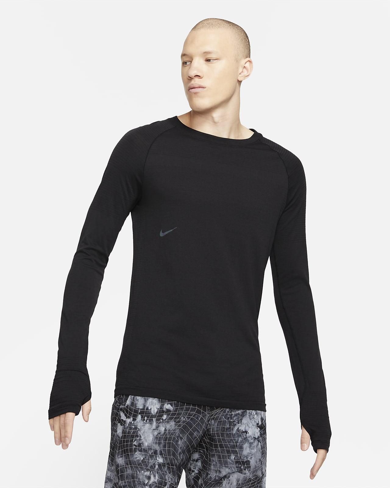 Haut en laine à manches longues Nike NSRL pour Homme