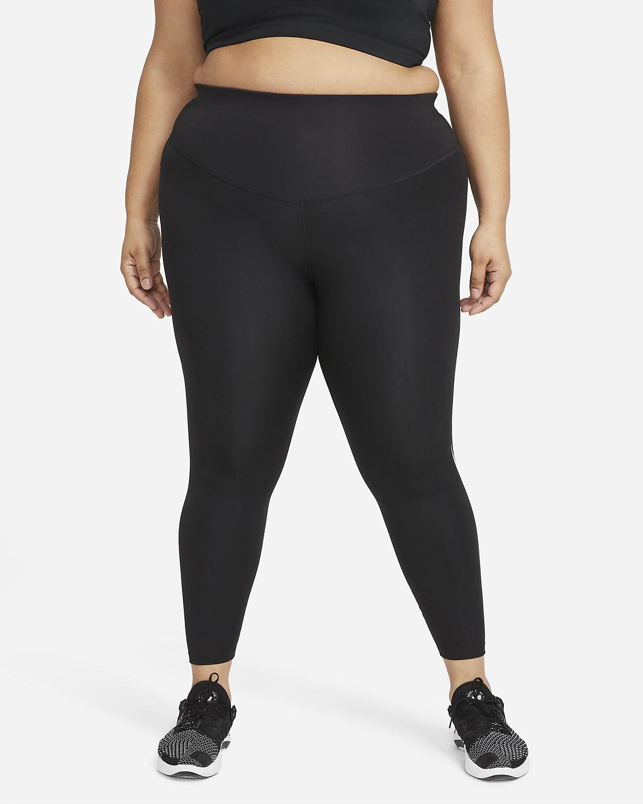 Nike Swoosh Run Women's Mid-Rise 7/8 Running Leggings (Plus Size)