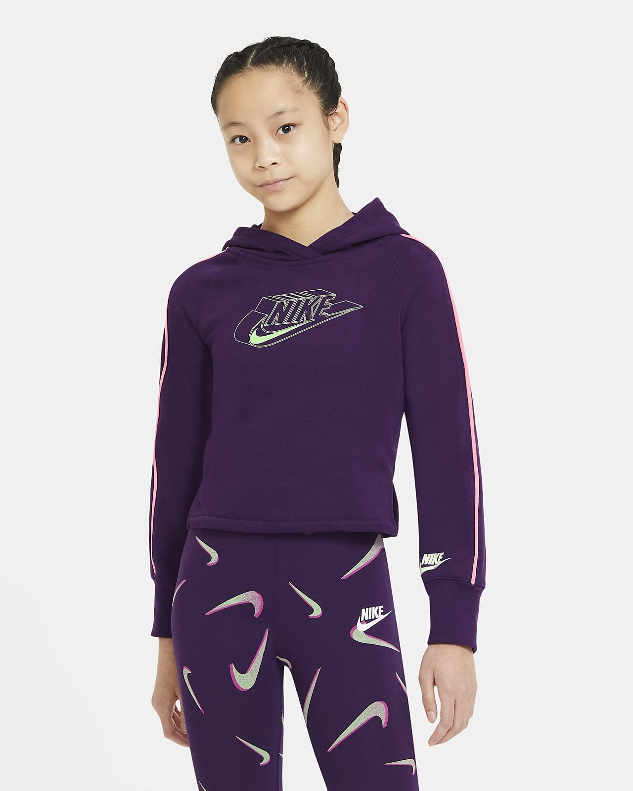 Nike Sportswear Big Kids' (Girls') Graphic Hoodie