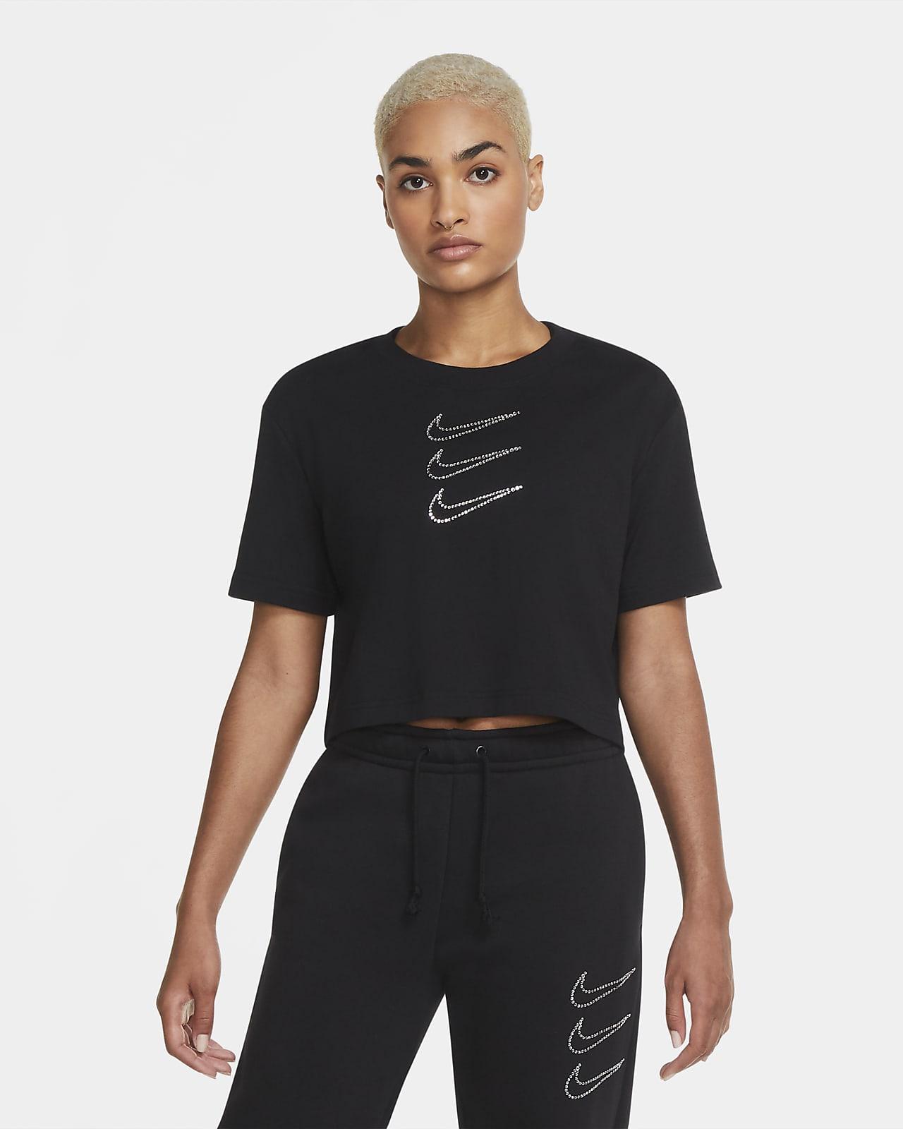 Nike Sportswear Rhinestone Women's Crop Top