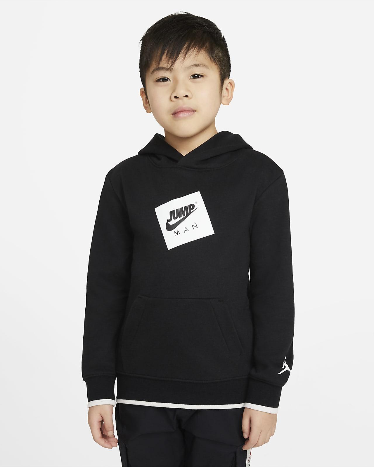 Jordan Jumpman Air kapucnis, belebújós pulóver gyerekeknek