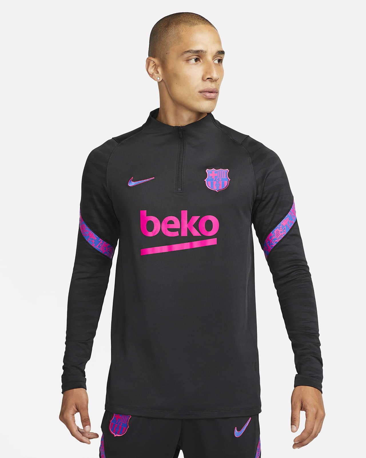 Haut d'entraînement de football Nike Dri-FIT FC Barcelona Strike pour Homme