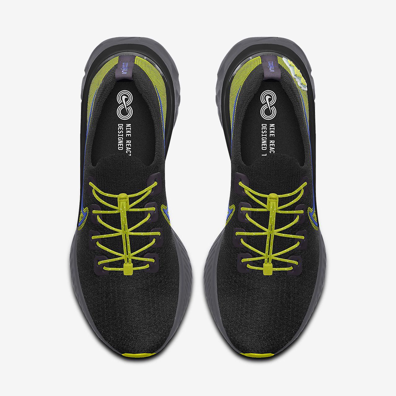 Nike React Infinity Run Flyknit By You Custom Men's Running Shoe