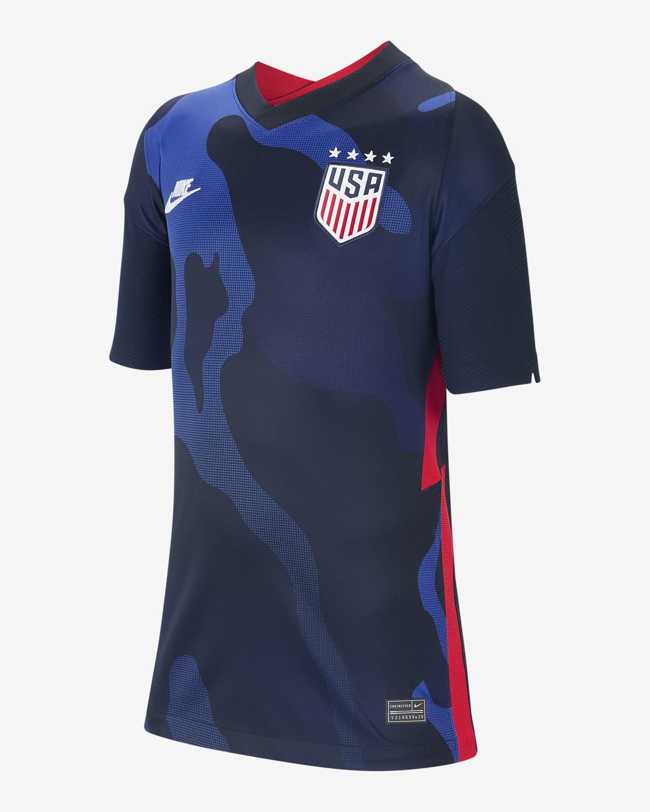 U.S. 2020 Stadium Away (4-Star) Big Kids' Soccer Jersey