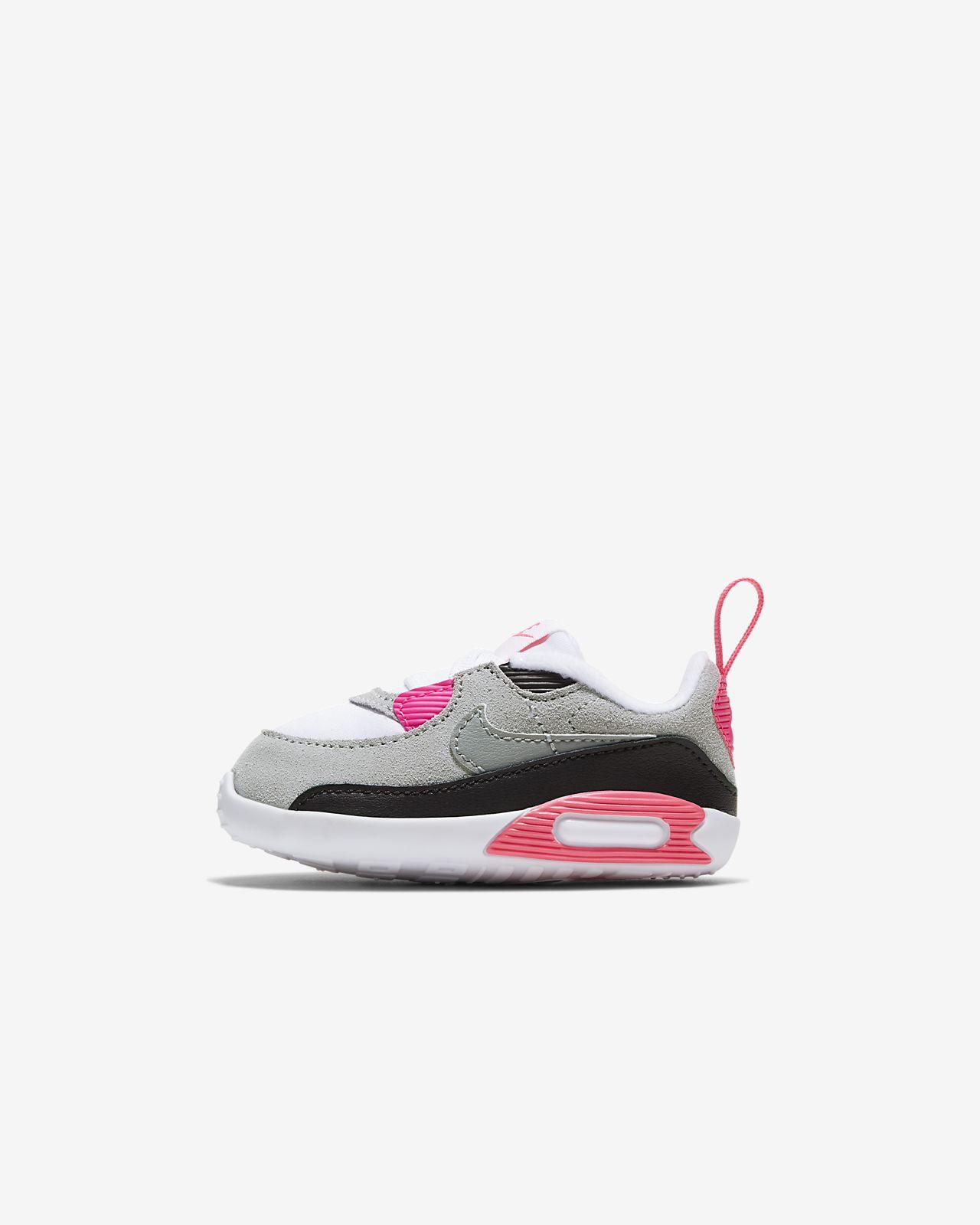 Nike Max 90 Crib bootie til babyer