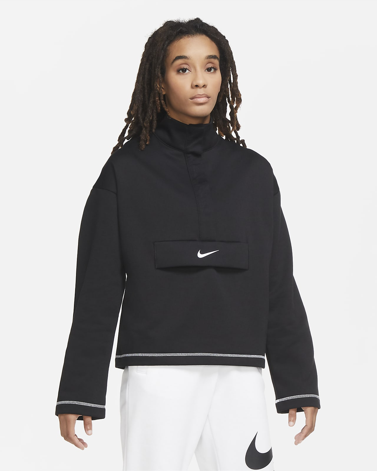 Nike Sportswear Swoosh Women's 1/2-Zip Fleece Top