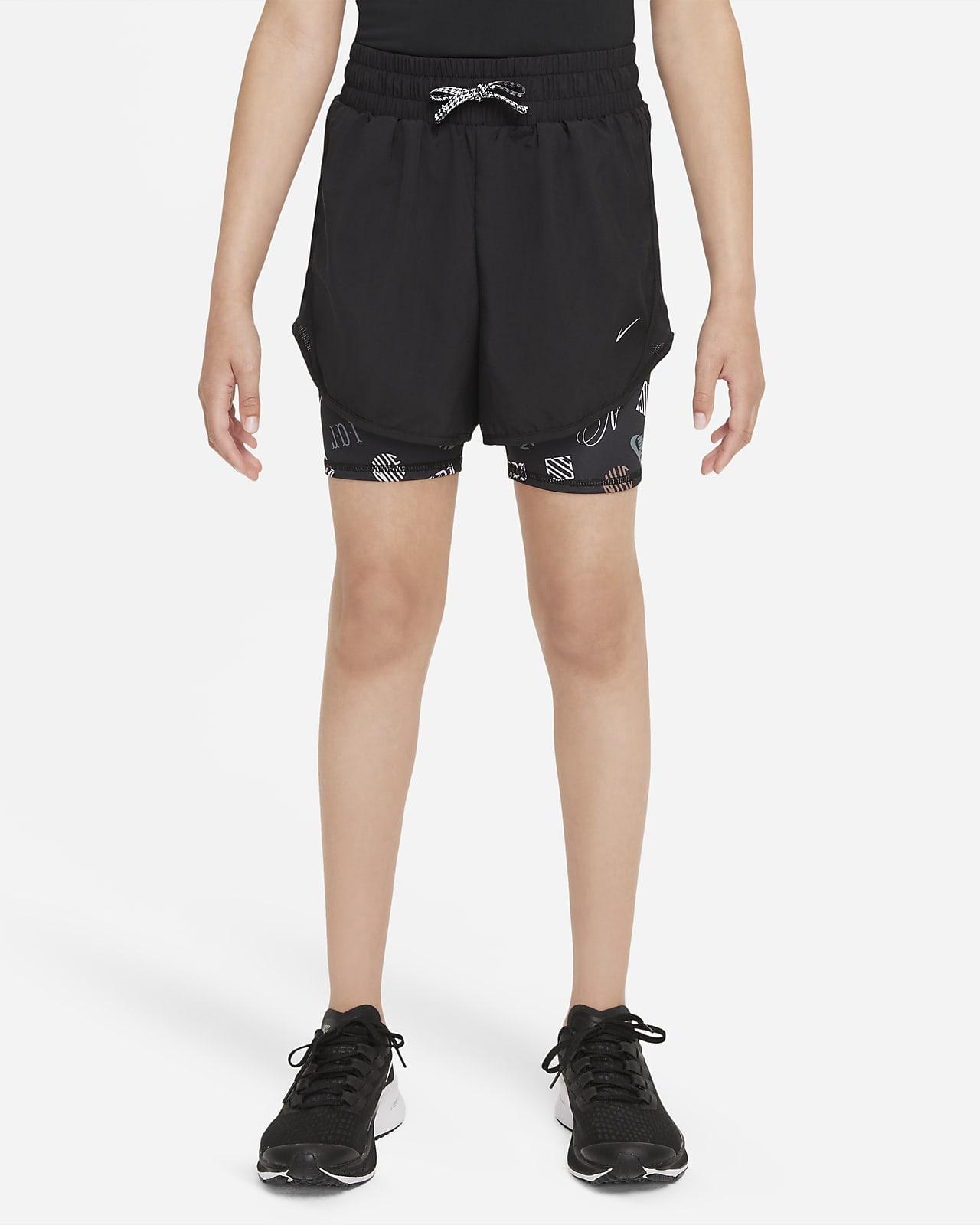 Nike Dri-FIT Tempo 大童(女孩)跑步短裤