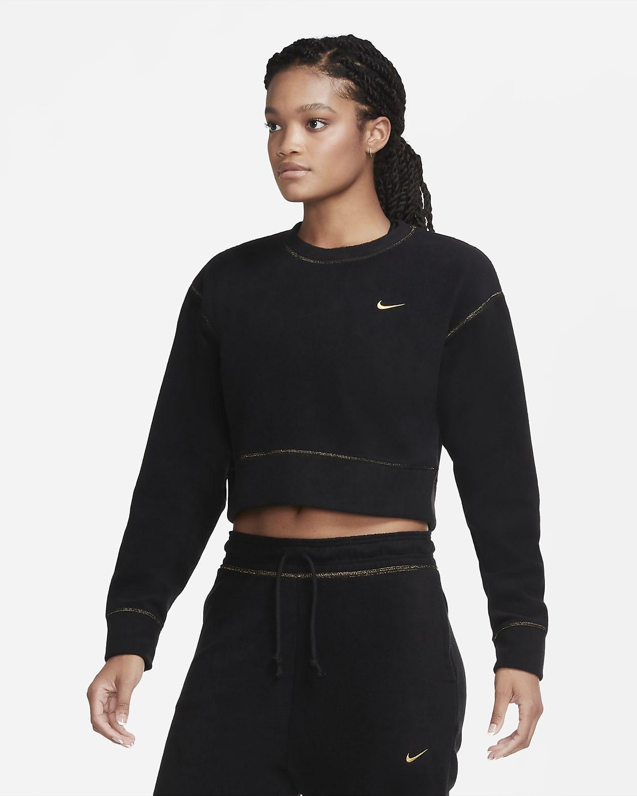 Camisola de treino de manga comprida de lã cardada Nike Therma Icon Clash para mulher