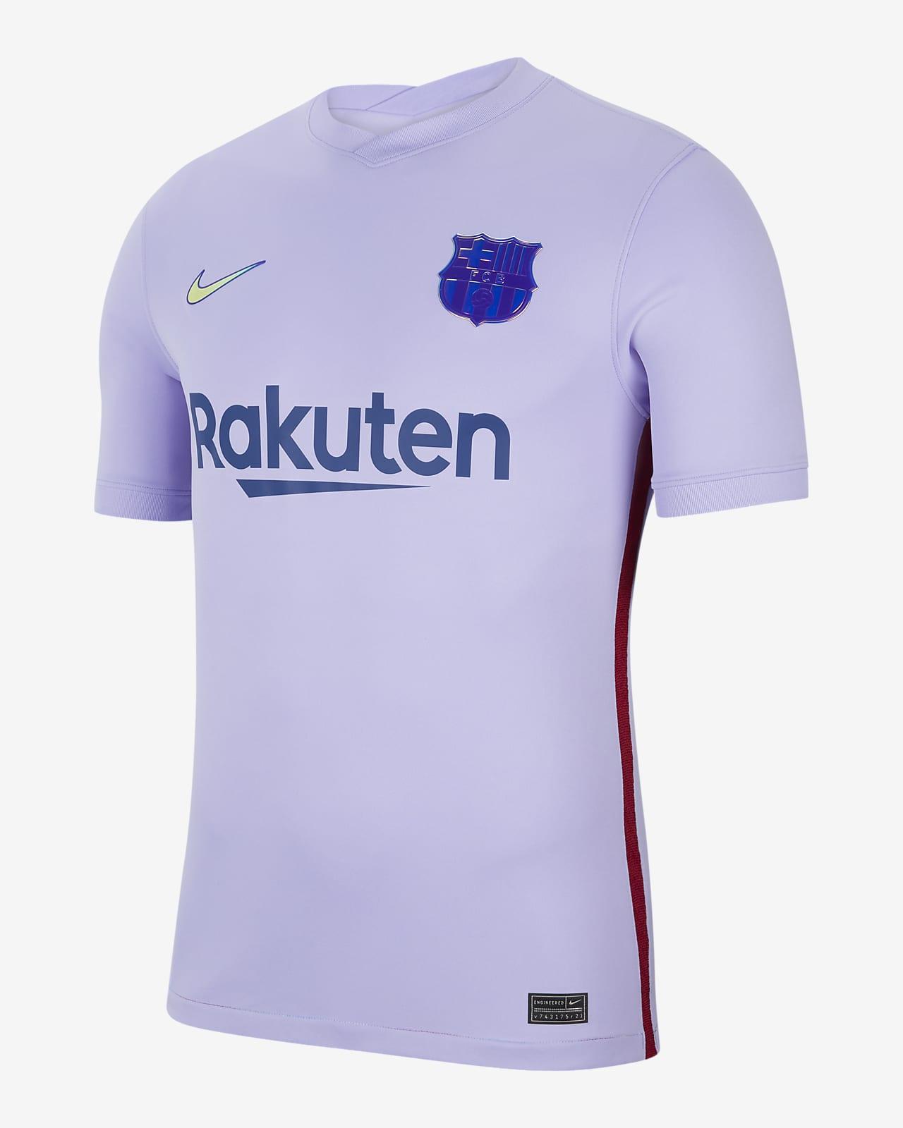 Camisola de futebol do equipamento alternativo Stadium FC Barcelona 2021/22 para homem