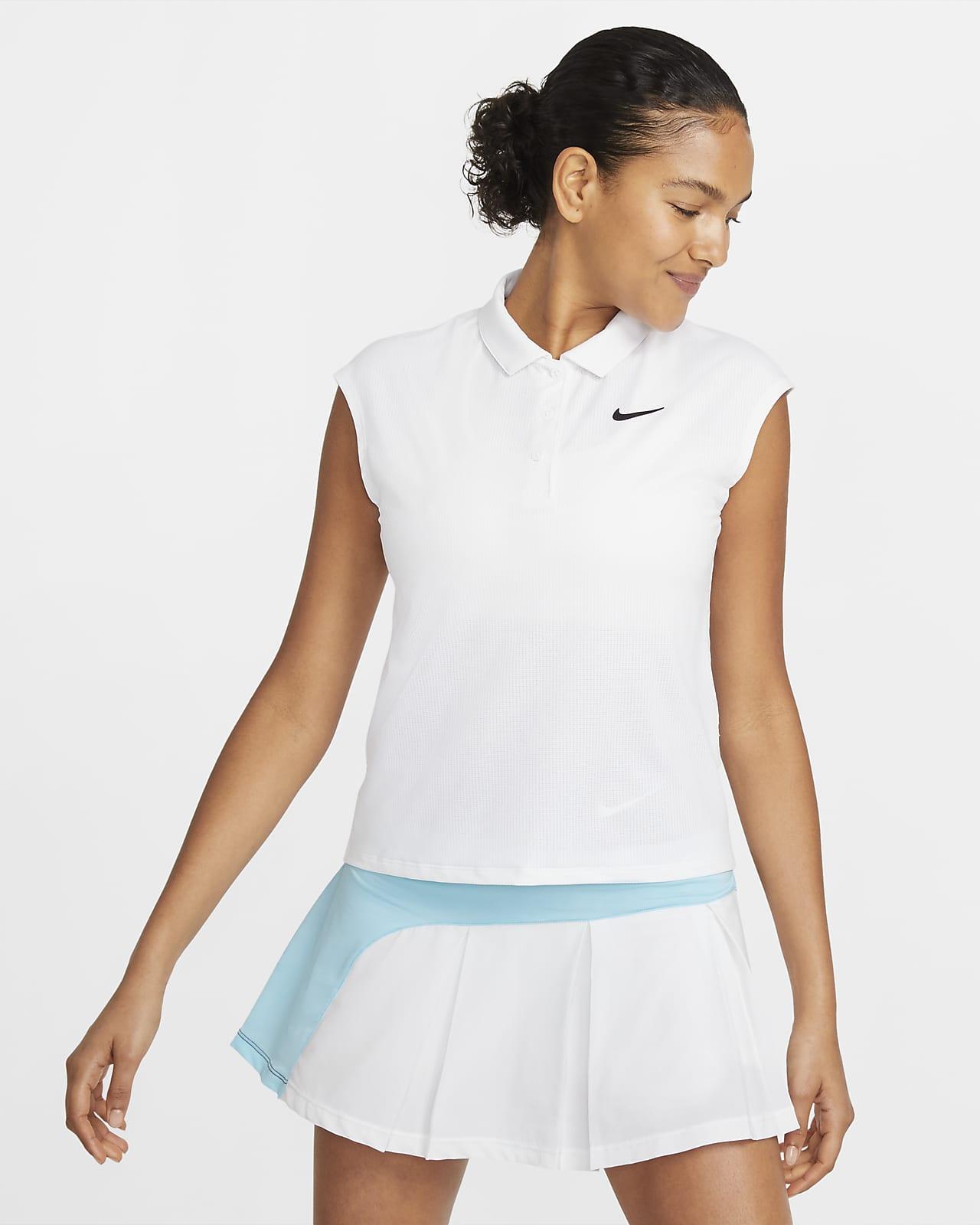Polo de tenis para mujer NikeCourt Victory