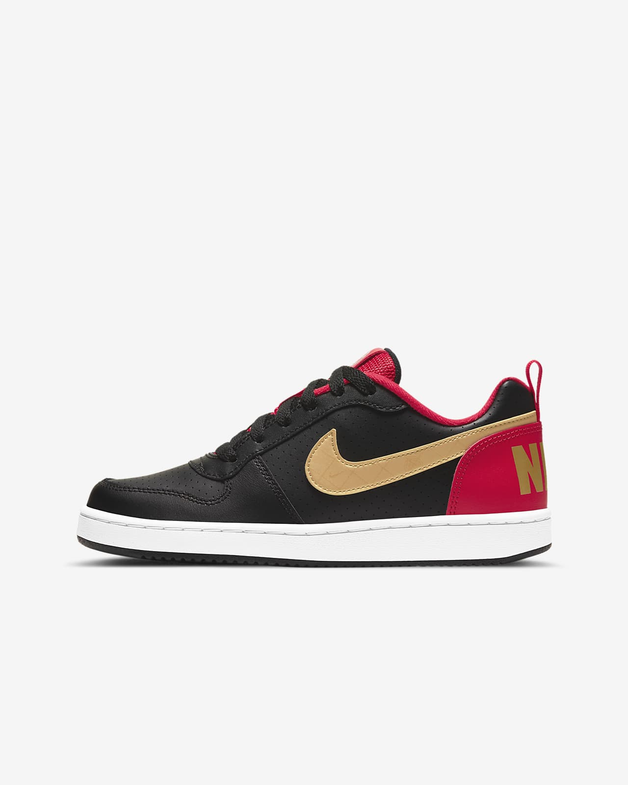 Nike Court Borough Low Big Kids' Shoe