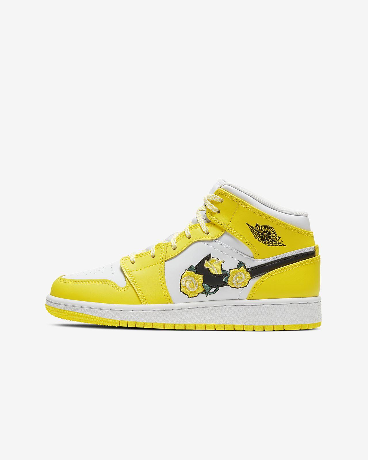 Air Jordan 1 Mid SE (GS) 大童运动童鞋